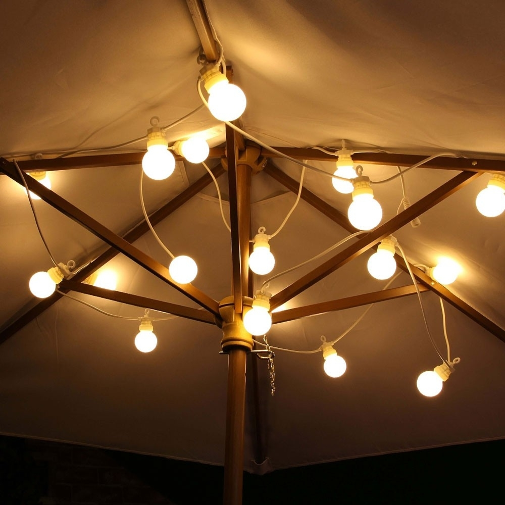 Festoon Lights Outdoor Connectable Warm White within Outdoor Mains Lanterns (Image 4 of 20)