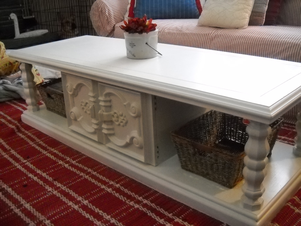 Finally: My Coffee Table Redo! Regarding Jelly Bean Coffee Tables (Image 12 of 30)