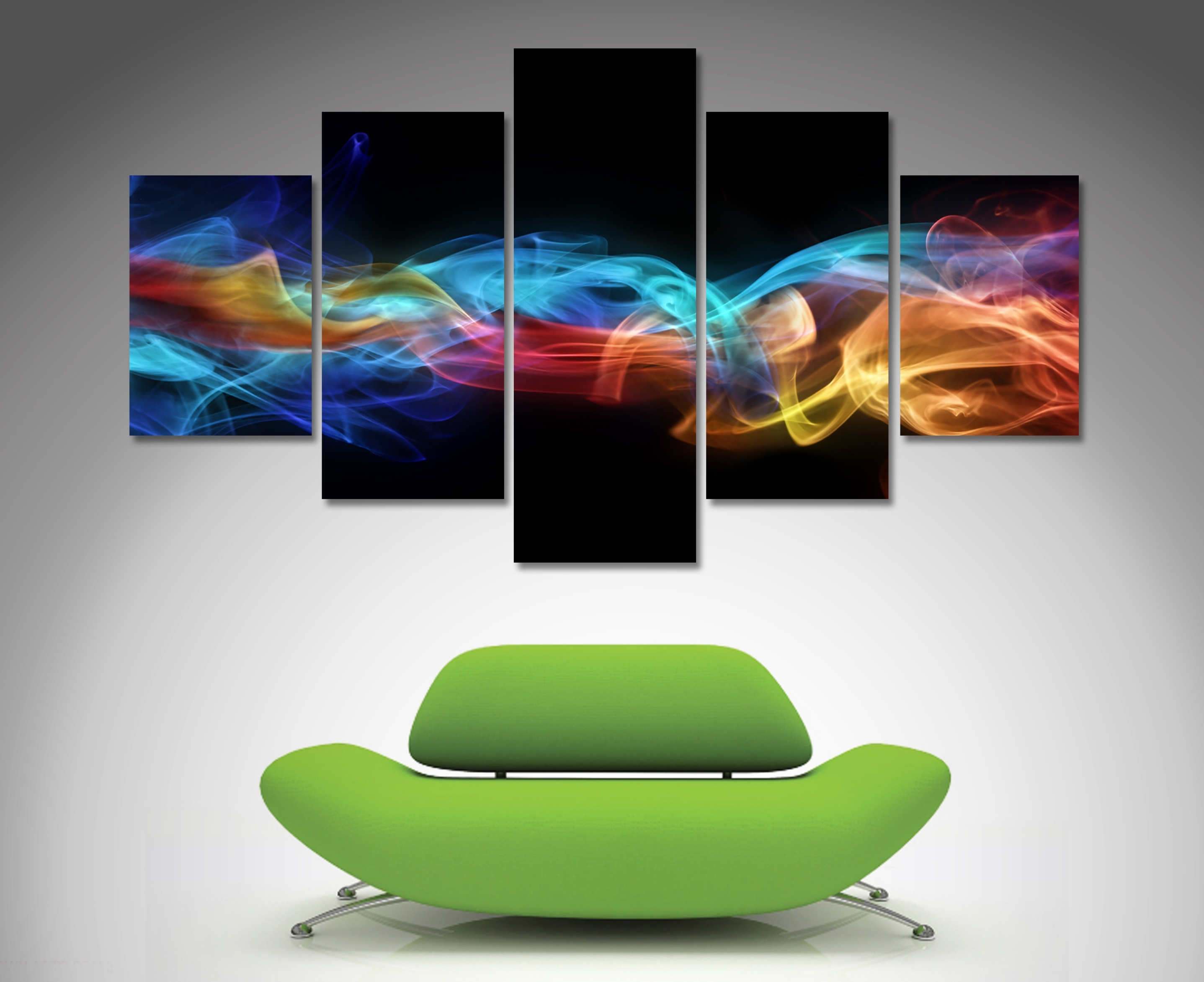 Fire And Ice 5 Panel Wall Art | Canvas Printing Australia pertaining to 5 Panel Wall Art (Image 12 of 20)