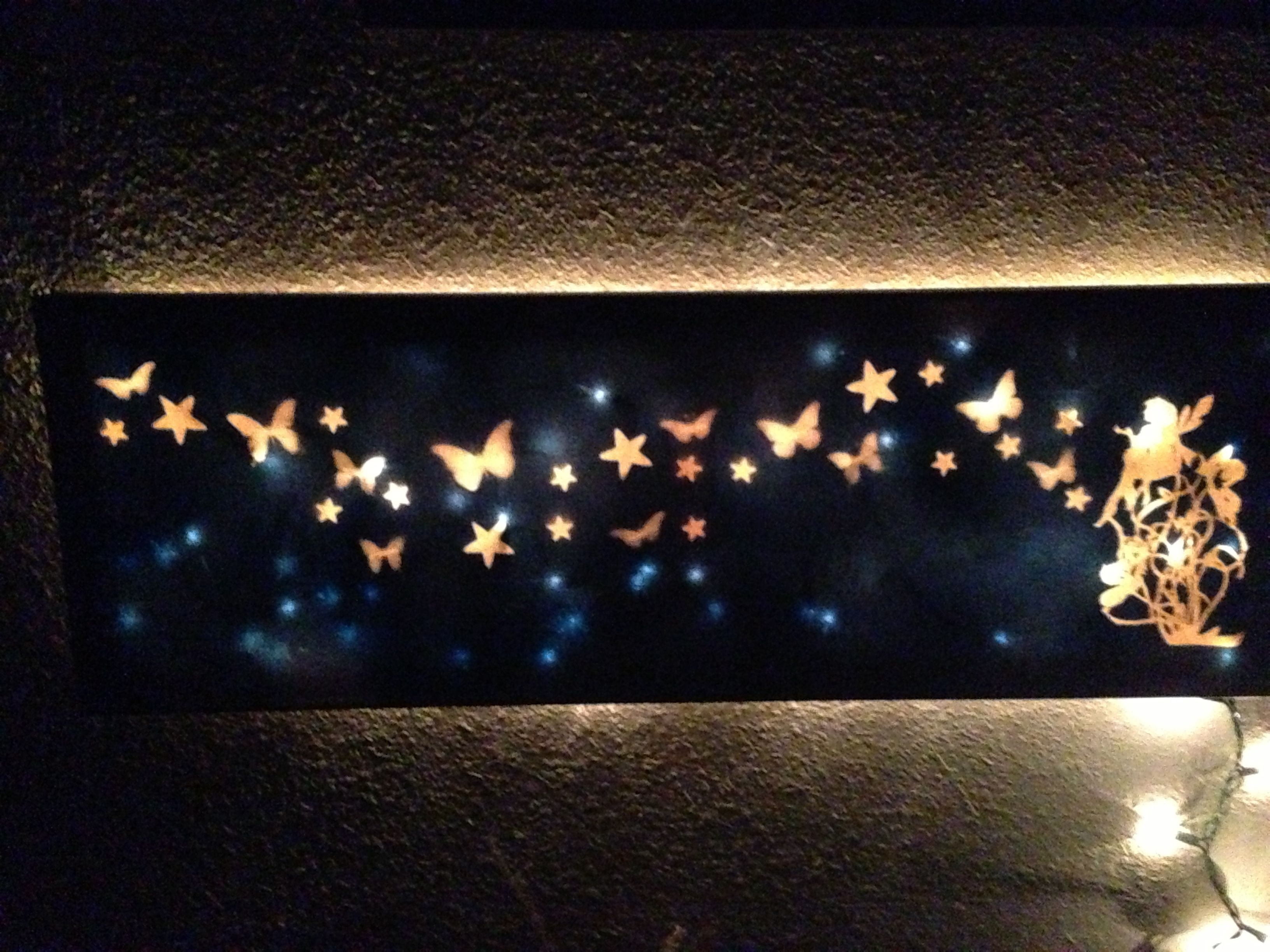 First Diy Light Up Canvas. #diy_Canvas_Light | Светильники with Light Up Wall Art (Image 7 of 20)