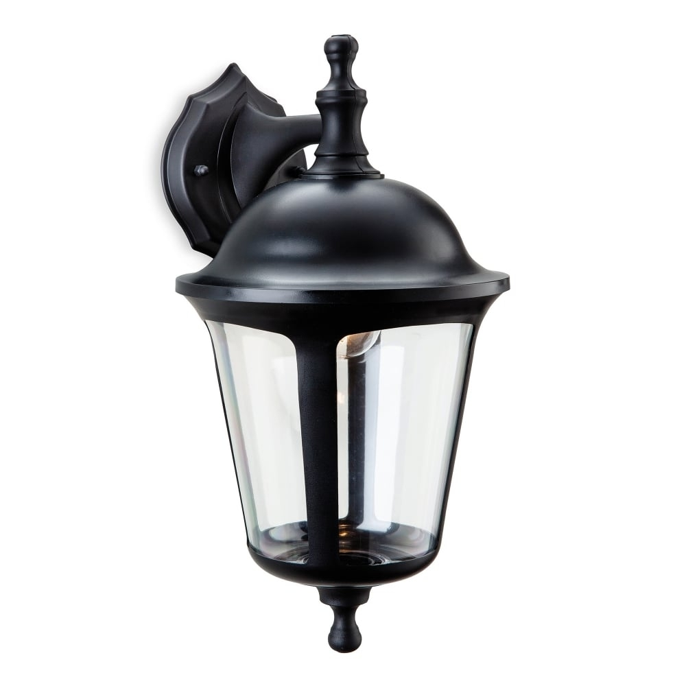 Firstlight Boston Single Light Outdoor Down Light Wall Lantern In in Outdoor Pir Lanterns (Image 8 of 20)