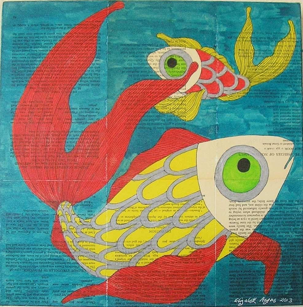 Fish Wall Art, Sea Life Wall Art, Fishes Wall Art, Fish Art, Sea regarding Sea Life Wall Art (Image 6 of 20)