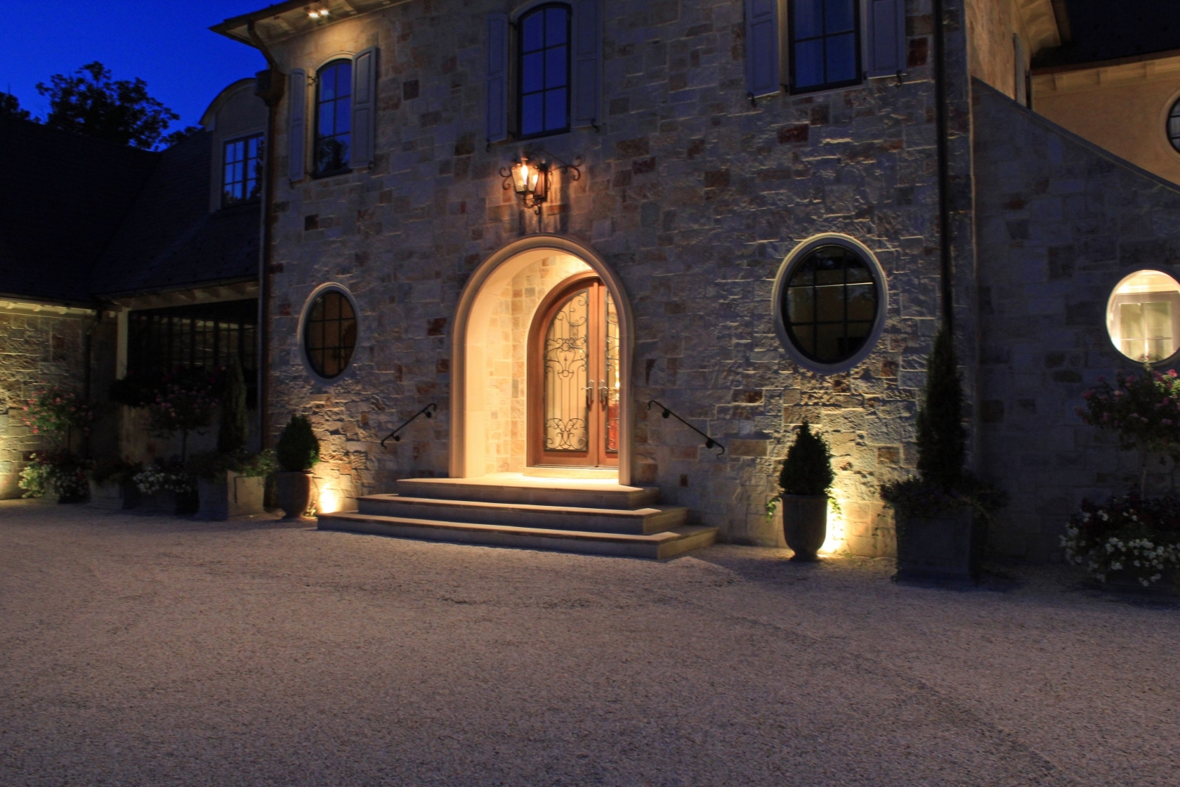 Five Tips To Improve Your Outdoor Lighting Areas | Inaray Design Group inside Outdoor Entrance Lanterns (Image 8 of 20)