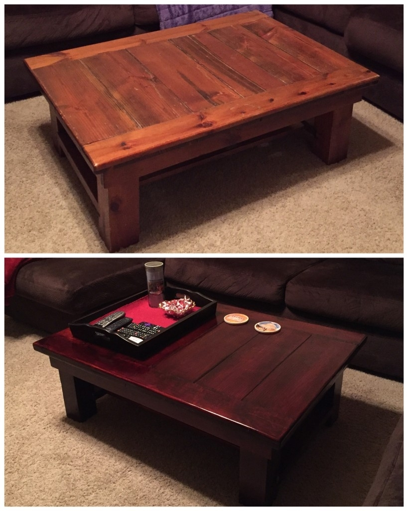 Flea Market Finds: Coffee Table Makeover - Two Jelly Beans throughout Jelly Bean Coffee Tables (Image 13 of 30)