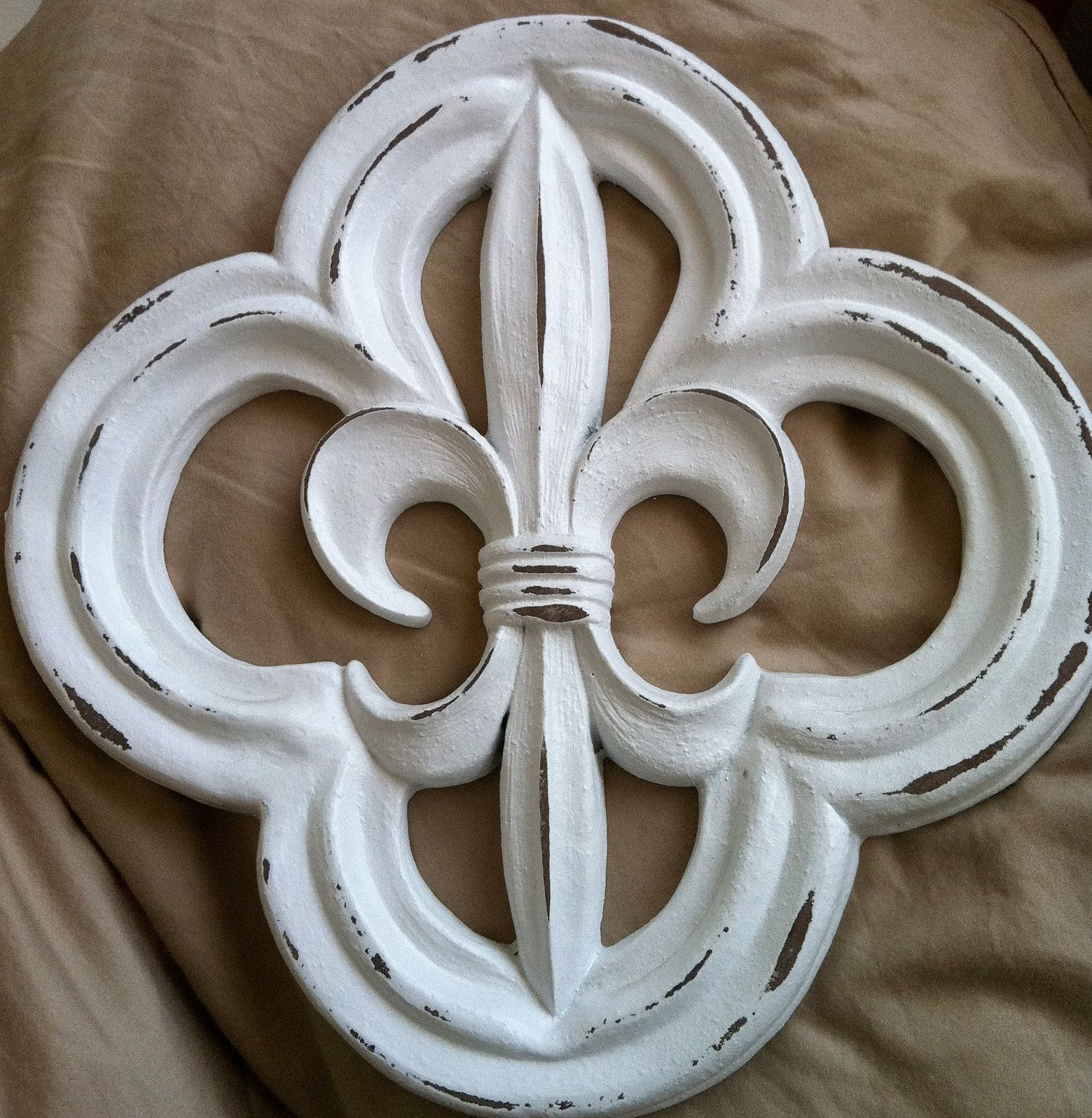 Fleur De Lis Wall Decor | Design Ideas And Decor | Louisiana Theme pertaining to Fleur De Lis Wall Art (Image 9 of 20)