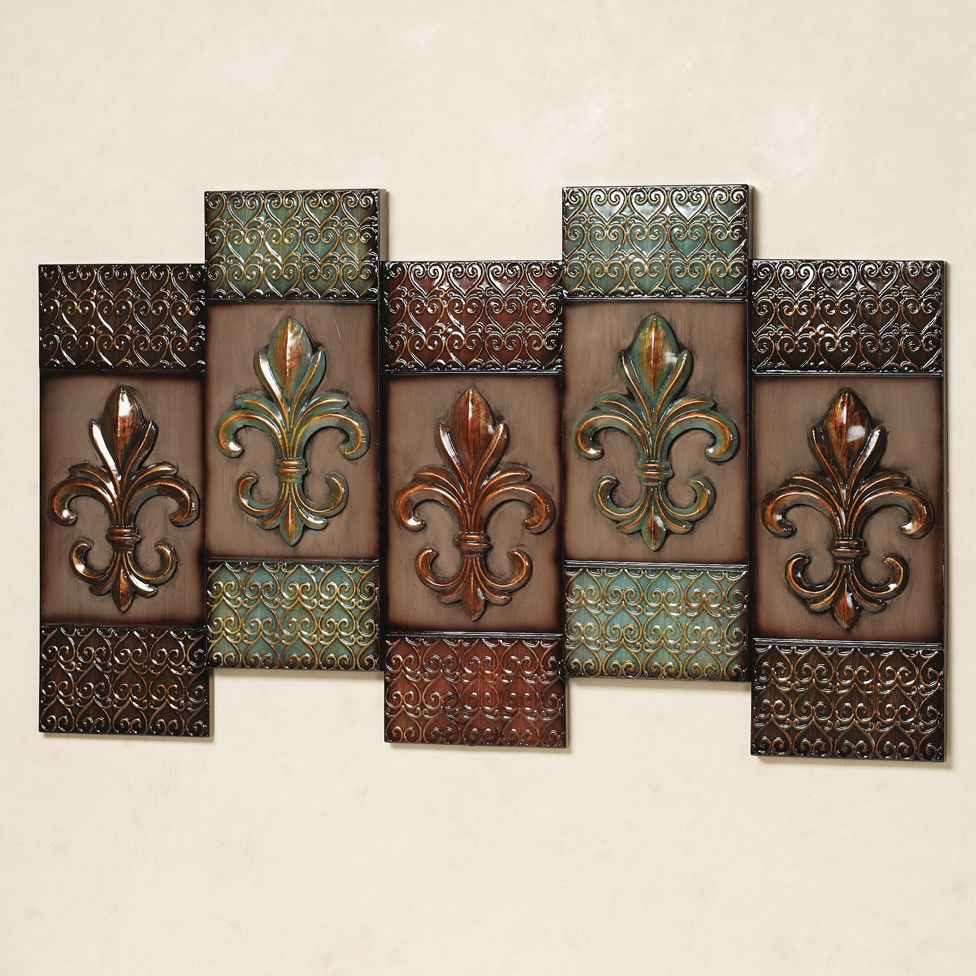 Fleur De Lis Wall Decor # Fleur De Lis Outdoor Wall Decor - Youtube inside Fleur De Lis Wall Art (Image 7 of 20)