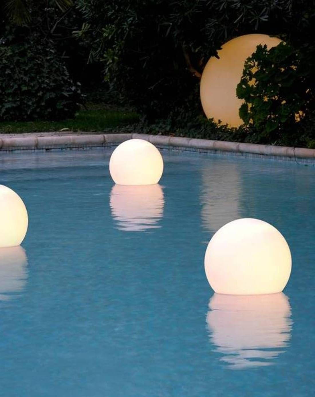 Floating Pool Lights For Inground Pools | Pool Ideas | Pinterest With Regard To Outdoor Lanterns For Poolside (View 4 of 20)