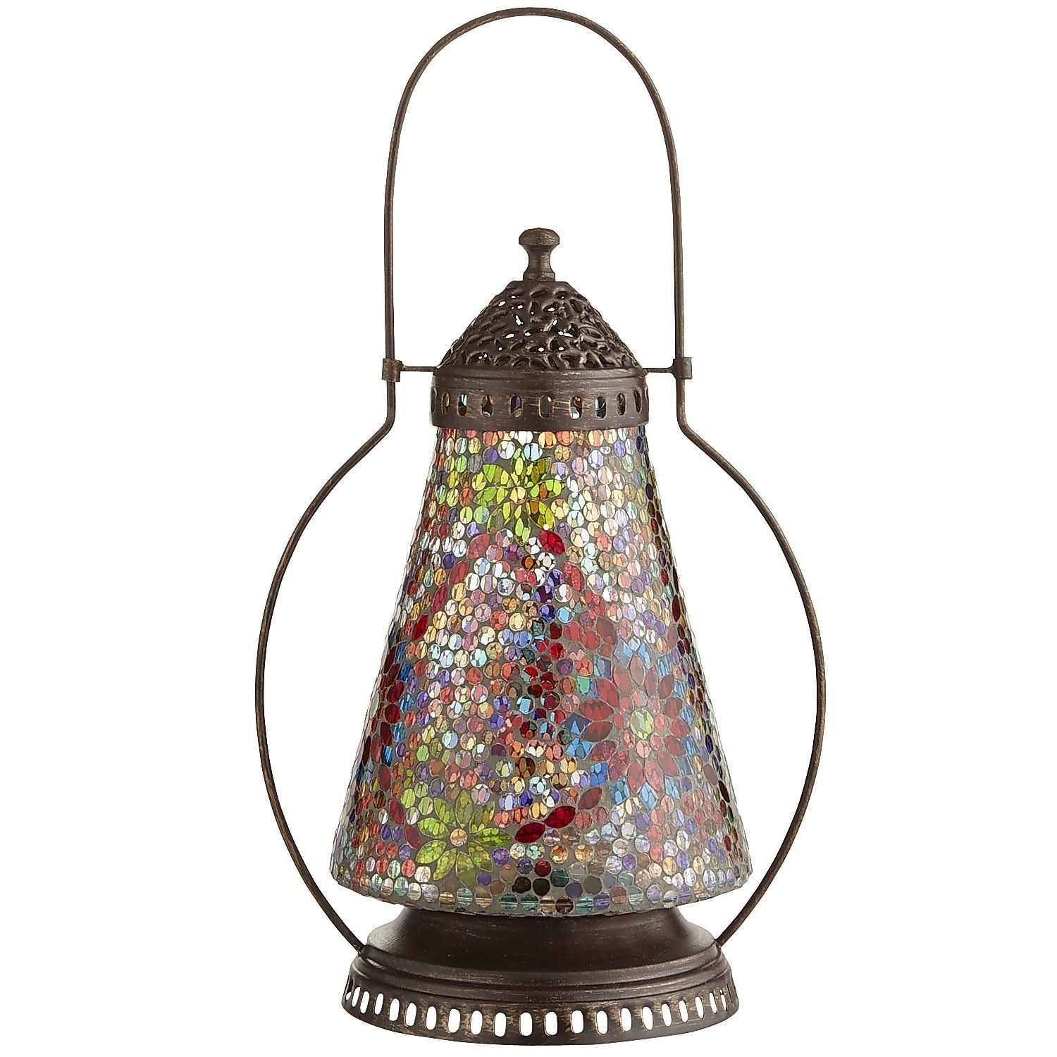 Popular Photo of Outdoor Mosaic Lanterns