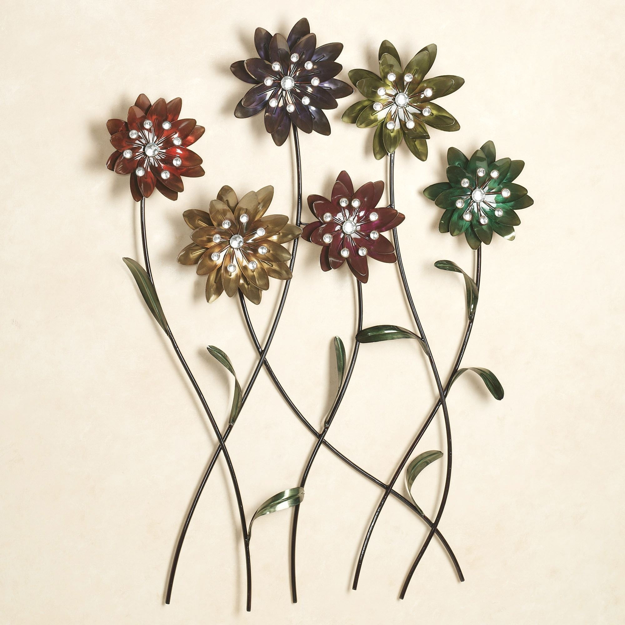 Flower Song Metal Wall Art, Metal Flower Wall Art – The Beyer Foundation With Metal Flowers Wall Art (View 7 of 20)