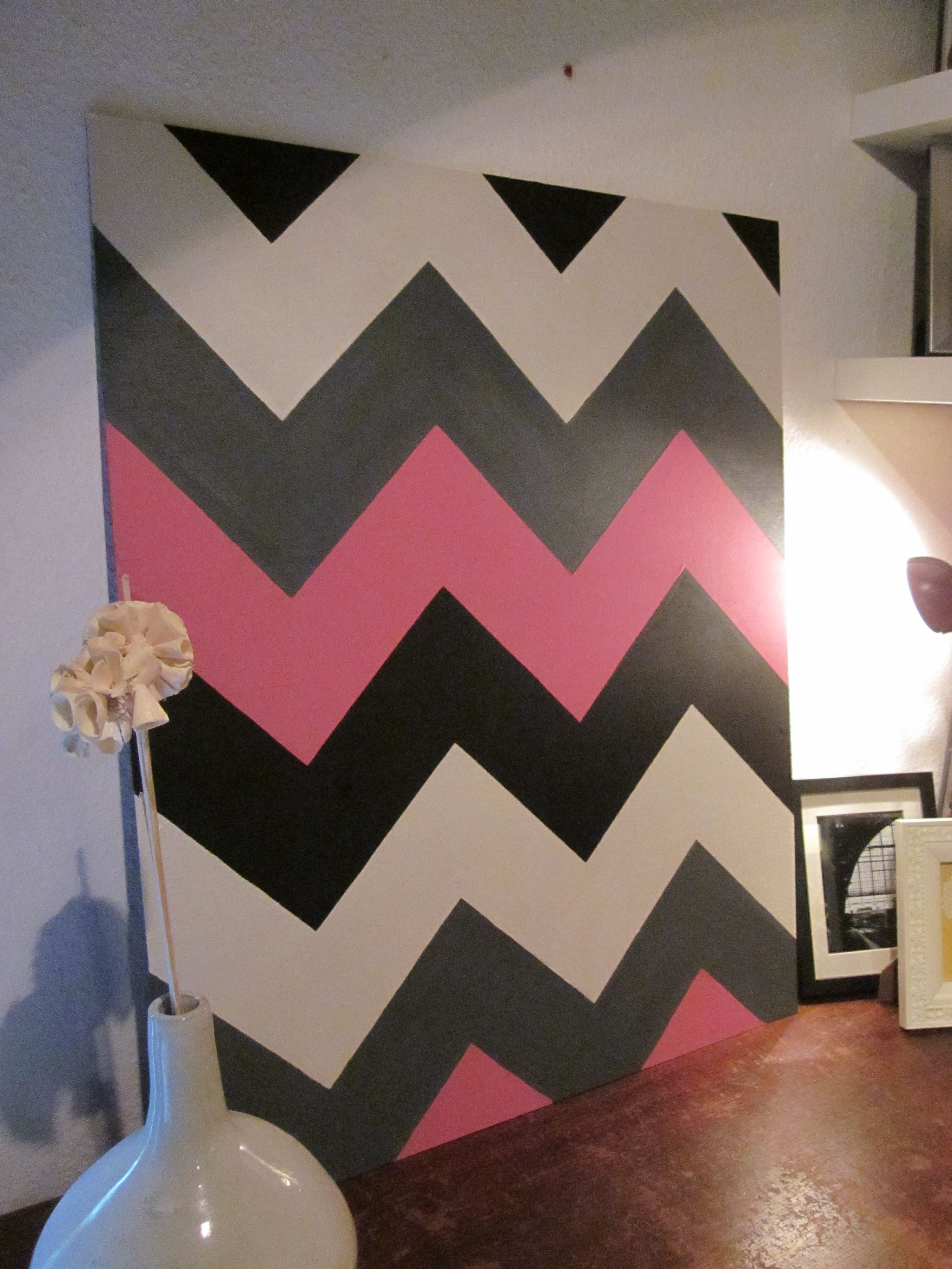 Four Colored Chevron Wall Art | Decorating Ideas | Pinterest | Walls In Chevron Wall Art (View 17 of 20)