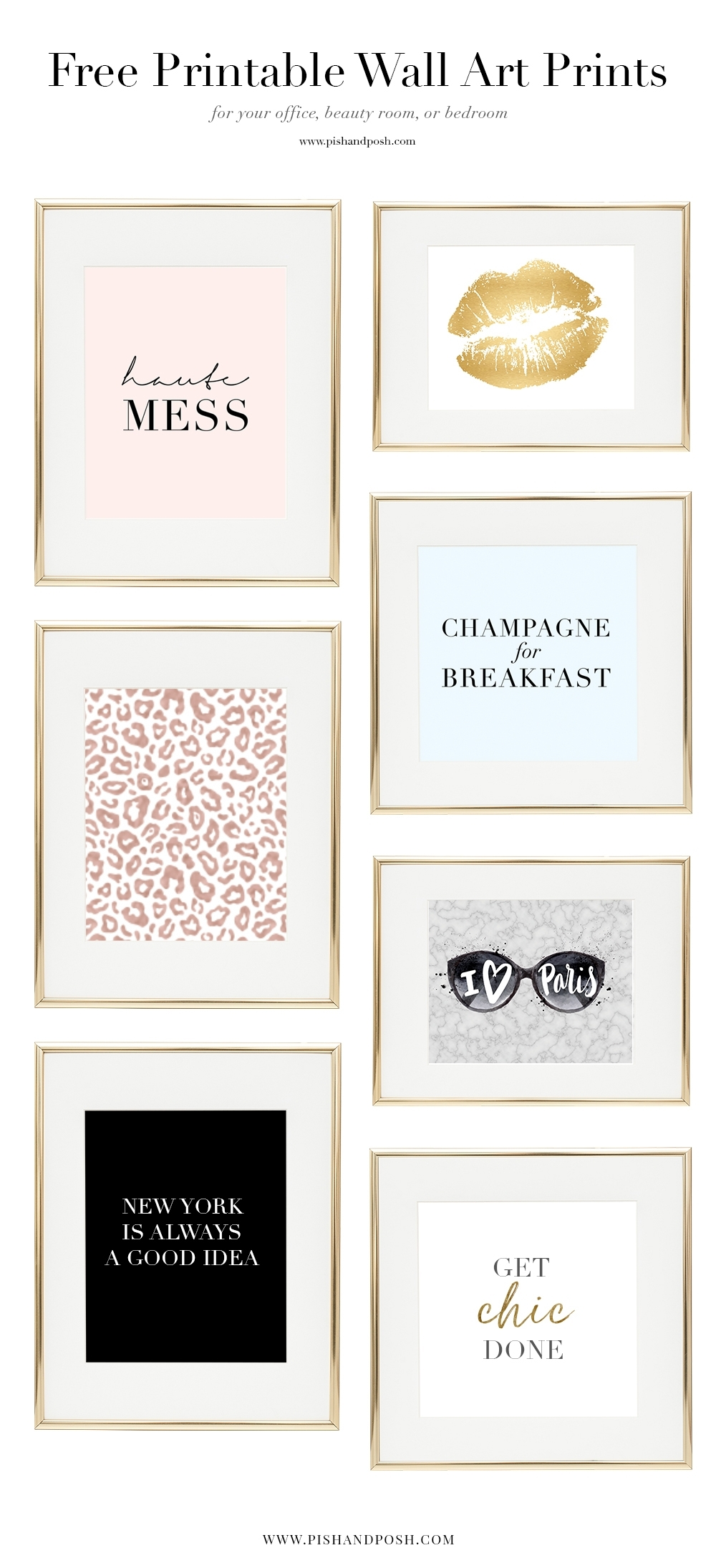 Free Girl Boss Prints For Your Office, Beauty Room, Or Bedroom Inside Free Printable Wall Art (View 20 of 20)