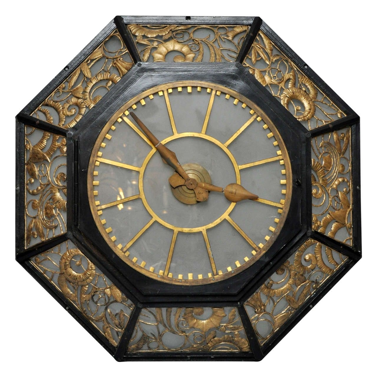 French Art Deco Wall Clock | Timepieces | Pinterest | Deco Wall for Art Deco Wall Clock (Image 11 of 20)