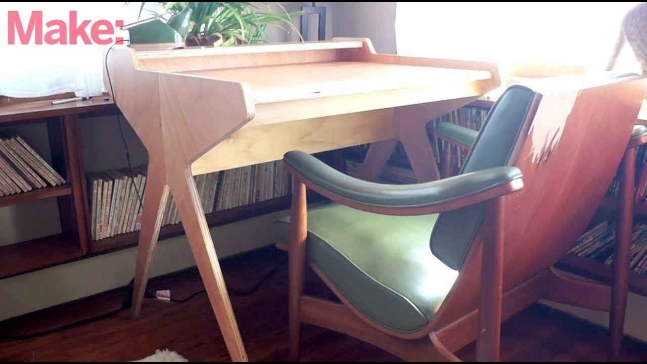 Fresh Of Diy Wood Desk Pics   Artsvisuelscaribeens pertaining to Fresh Cut Side Tables (Image 11 of 30)