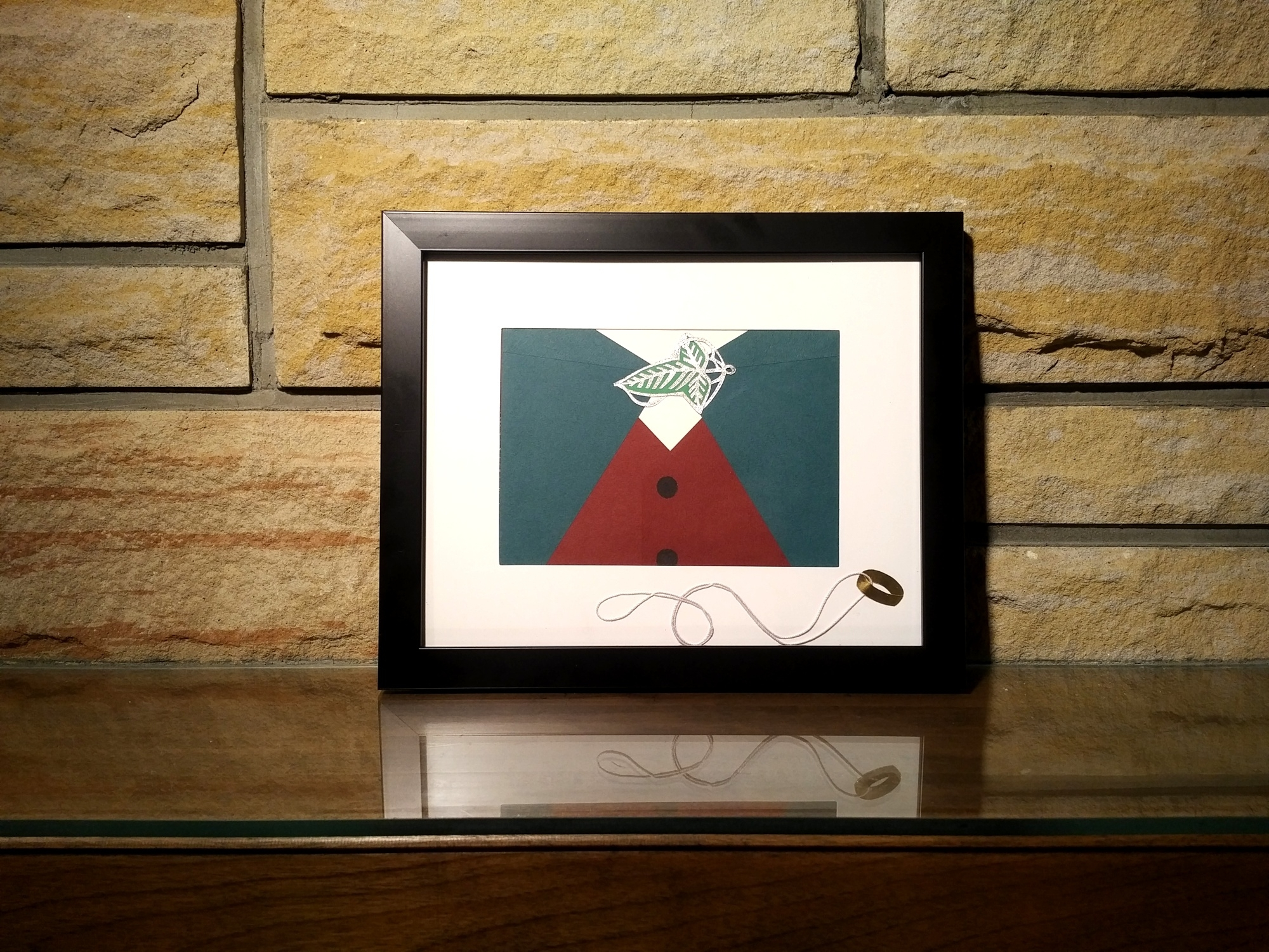 Frodo (Lord Of The Rings) Wall Art - Framed · Rice Paper Designs in Lord Of The Rings Wall Art (Image 5 of 20)