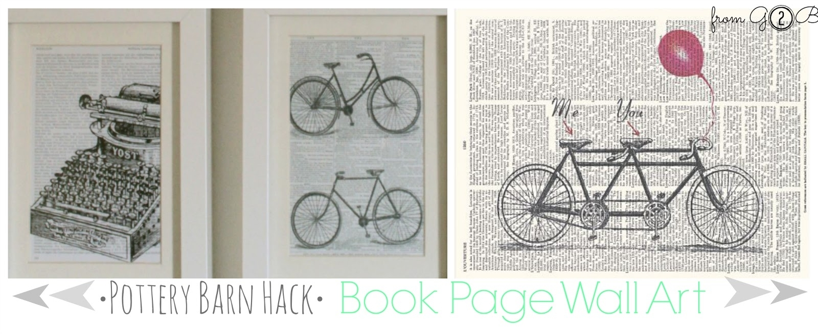 From Gardners 2 Bergers: [Pottery Barn Hack] Book Page Wall Art with regard to Pottery Barn Wall Art (Image 9 of 20)