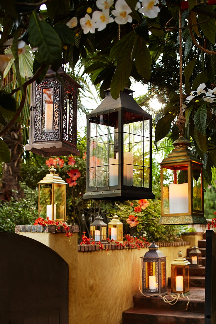 From Patio To Tabletop, Pier 1 Outdoor Lanterns Make A Strong in Outdoor Lanterns For Patio (Image 4 of 20)