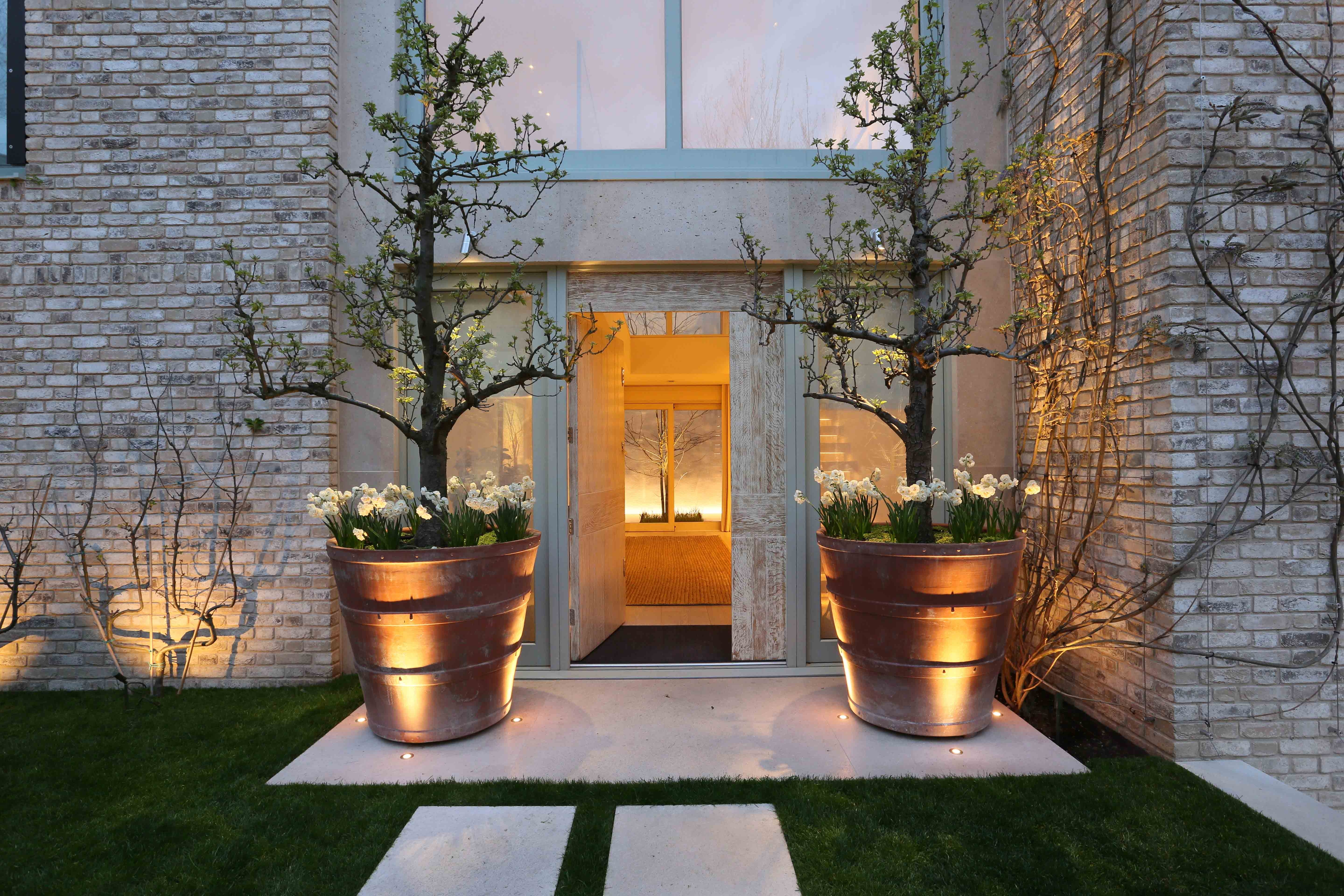 Front Door Lighting Ideas And Products | John Cullen Lighting pertaining to Outdoor Lanterns for Front Door (Image 7 of 20)