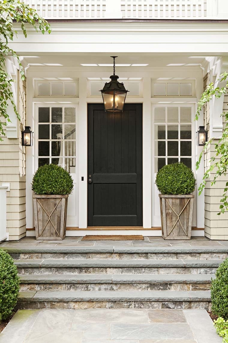 Front Door Lighting Tips - Kristywicks with regard to Outdoor Lanterns For Front Door (Image 8 of 20)