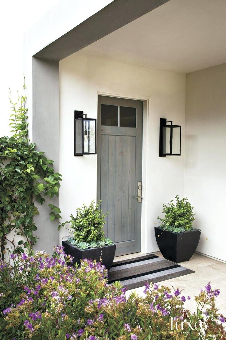 Front Door Lighting Uk Recessed Porch Teamns Info Exterior Fixtures with regard to Outdoor Door Lanterns (Image 10 of 20)