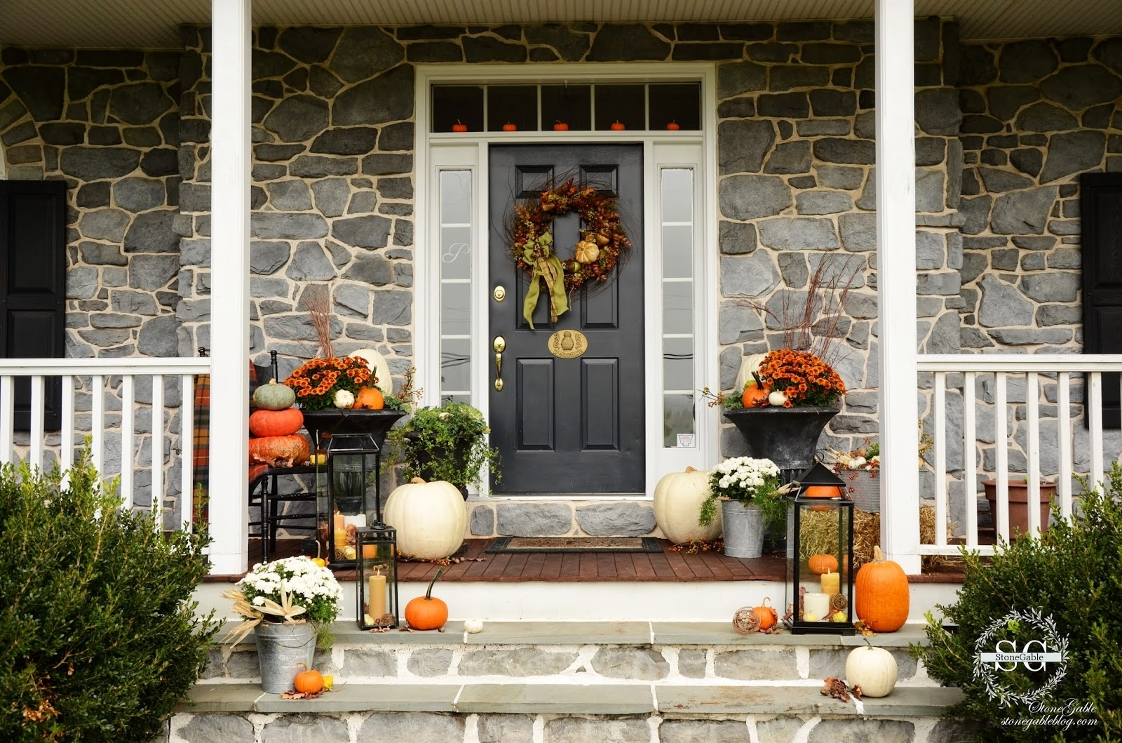 Front Step Ideas Staging Steps Entrance Home Elements And Style within Outdoor Lanterns for Front Door (Image 10 of 20)