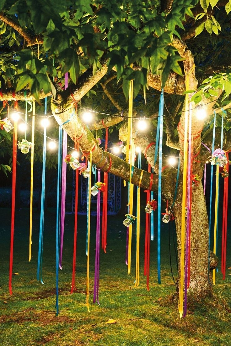 Fun Outdoor Birthday Party Décor Ideas | Shayna Party | Pinterest In Outdoor Mexican Lanterns (View 4 of 20)