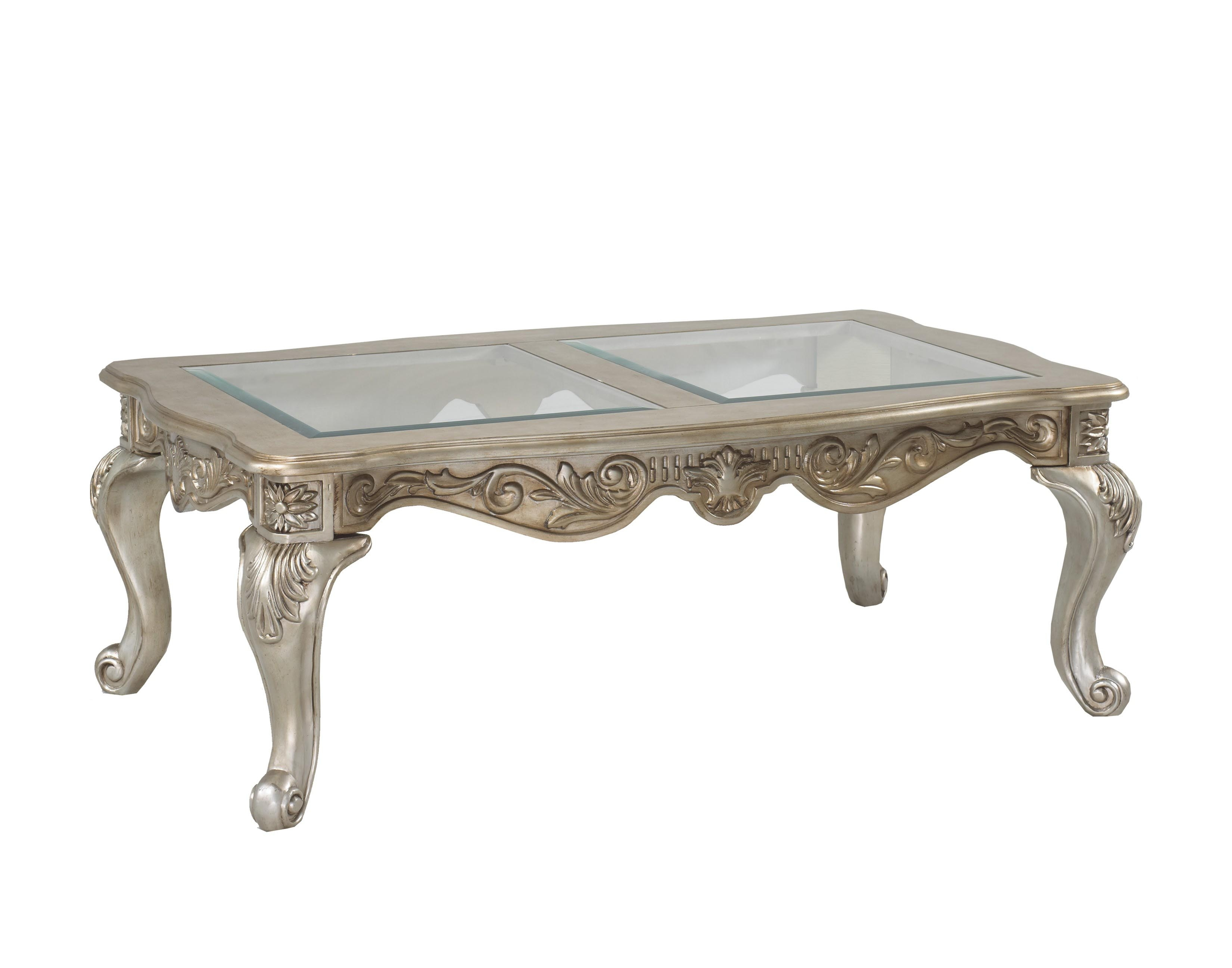 Furniture: Beautify Your Living Room With This Antique Coffee Table for Large Slab Marble Coffee Tables With Antiqued Silver Base (Image 14 of 30)