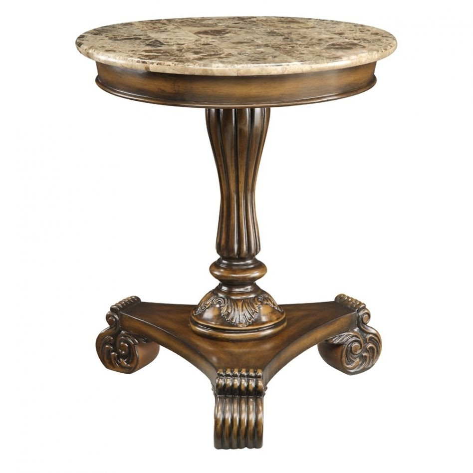 Furniture How To Make A Small Round End Table Woodworking With Smart Round Marble Brass Coffee Tables (View 14 of 30)