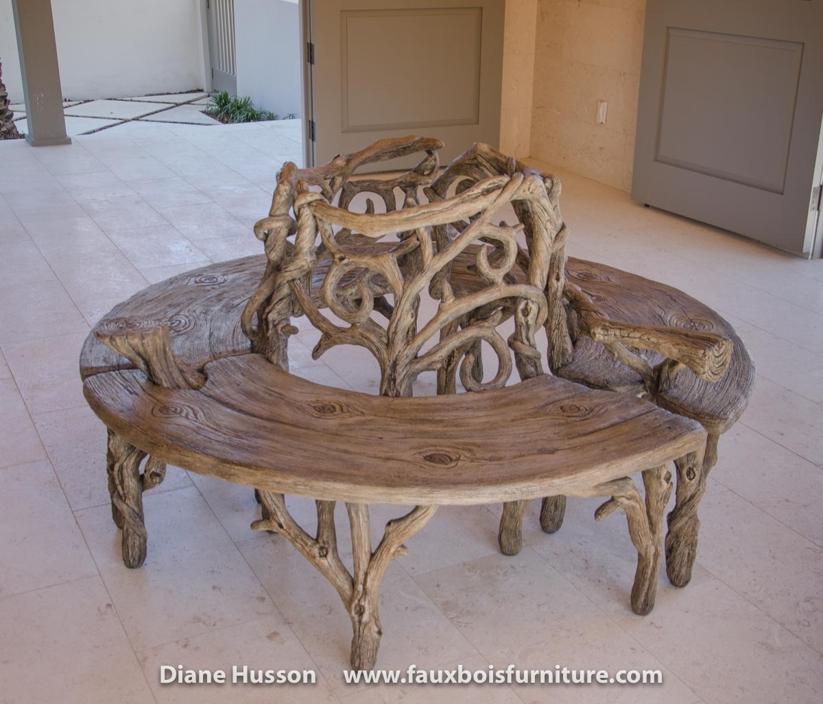 Gallery - Diane Husson intended for Faux Bois Coffee Tables (Image 24 of 30)