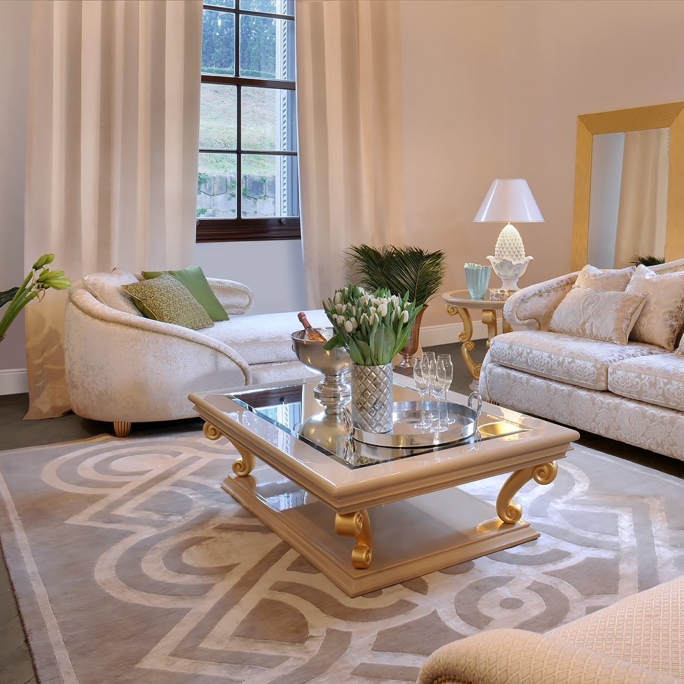 Gallery: Gold Coffee Table Set, - Longfabu with regard to Cuff Hammered Gold Coffee Tables (Image 7 of 30)