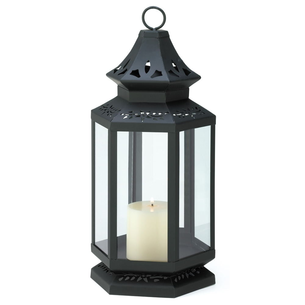 Gallery Of Light – Large Black Stagecoach Lantern 849179010560 | Ebay Pertaining To Outdoor Lanterns At Bunnings (View 9 of 20)