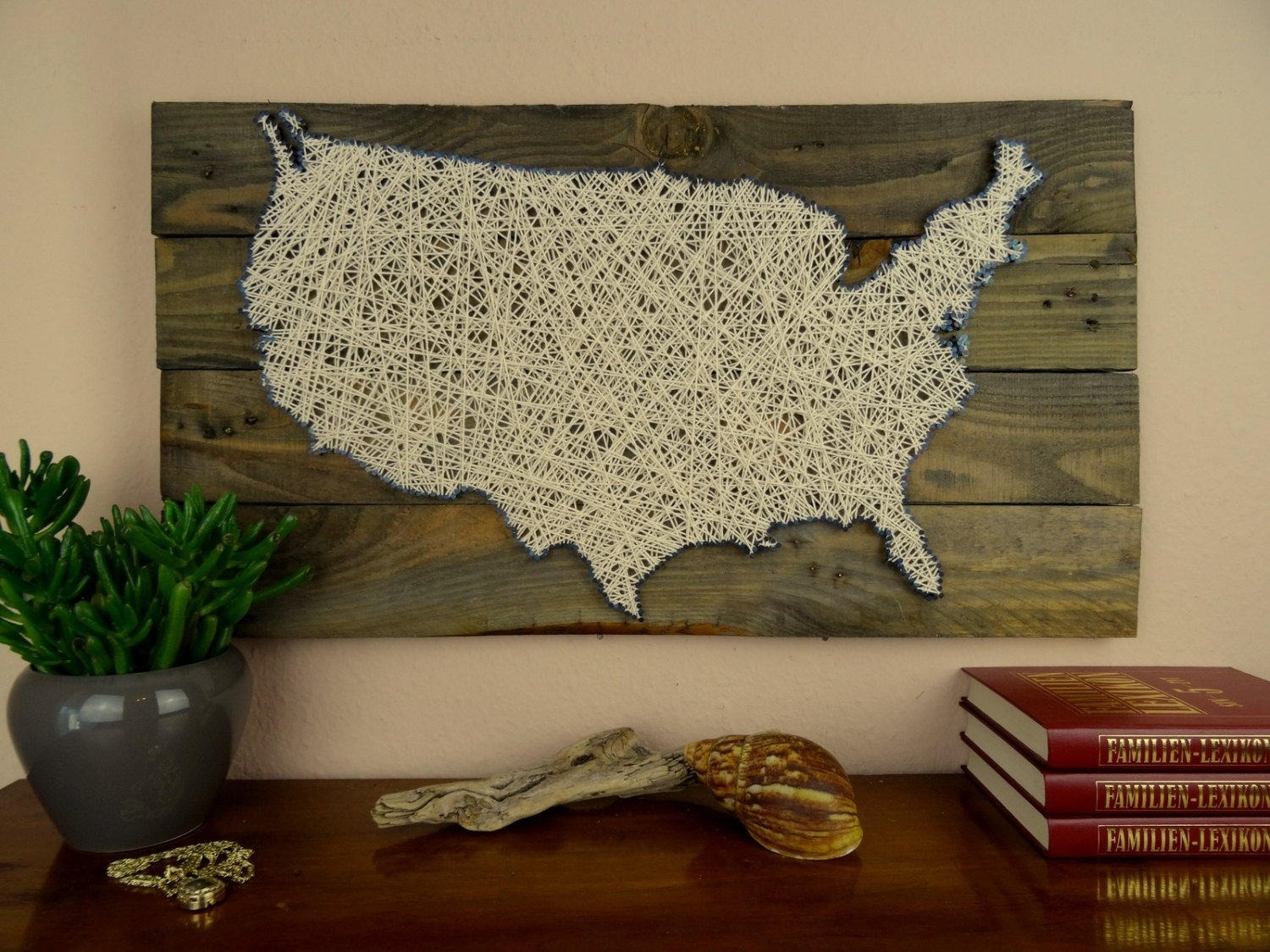 Gallery: Wooden Usa Wall Map, – Longfabu Inside String Map Wall Art (View 6 of 20)