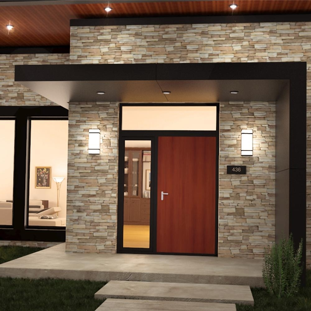 Garage Outdoor Lights Led - Outdoor Lighting Ideas for Outdoor Lanterns For Garage (Image 12 of 20)