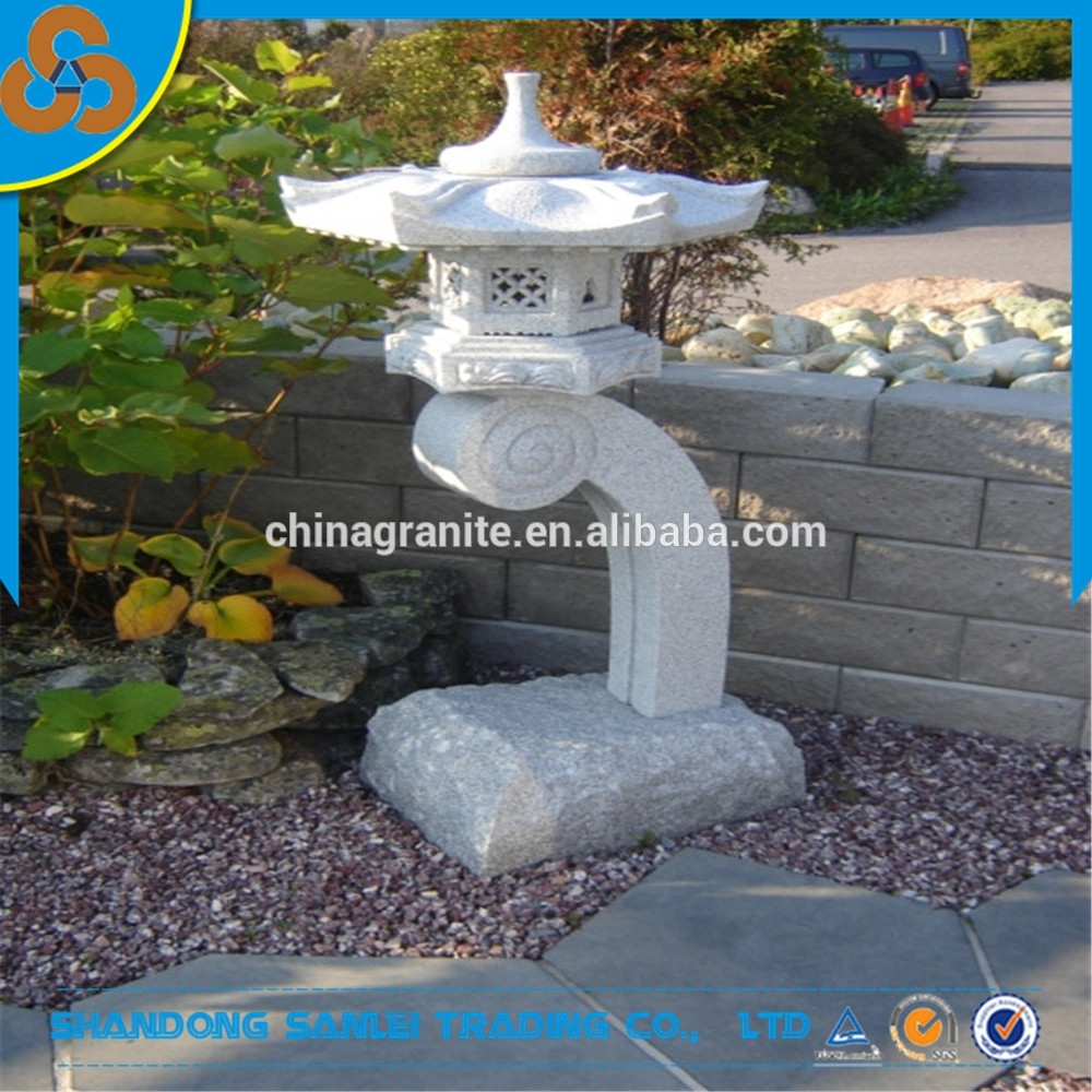 Garden Decor Outdoor Japanese Stone Lanterns Sale Best Prices - Buy within Outdoor Japanese Lanterns for Sale (Image 5 of 20)