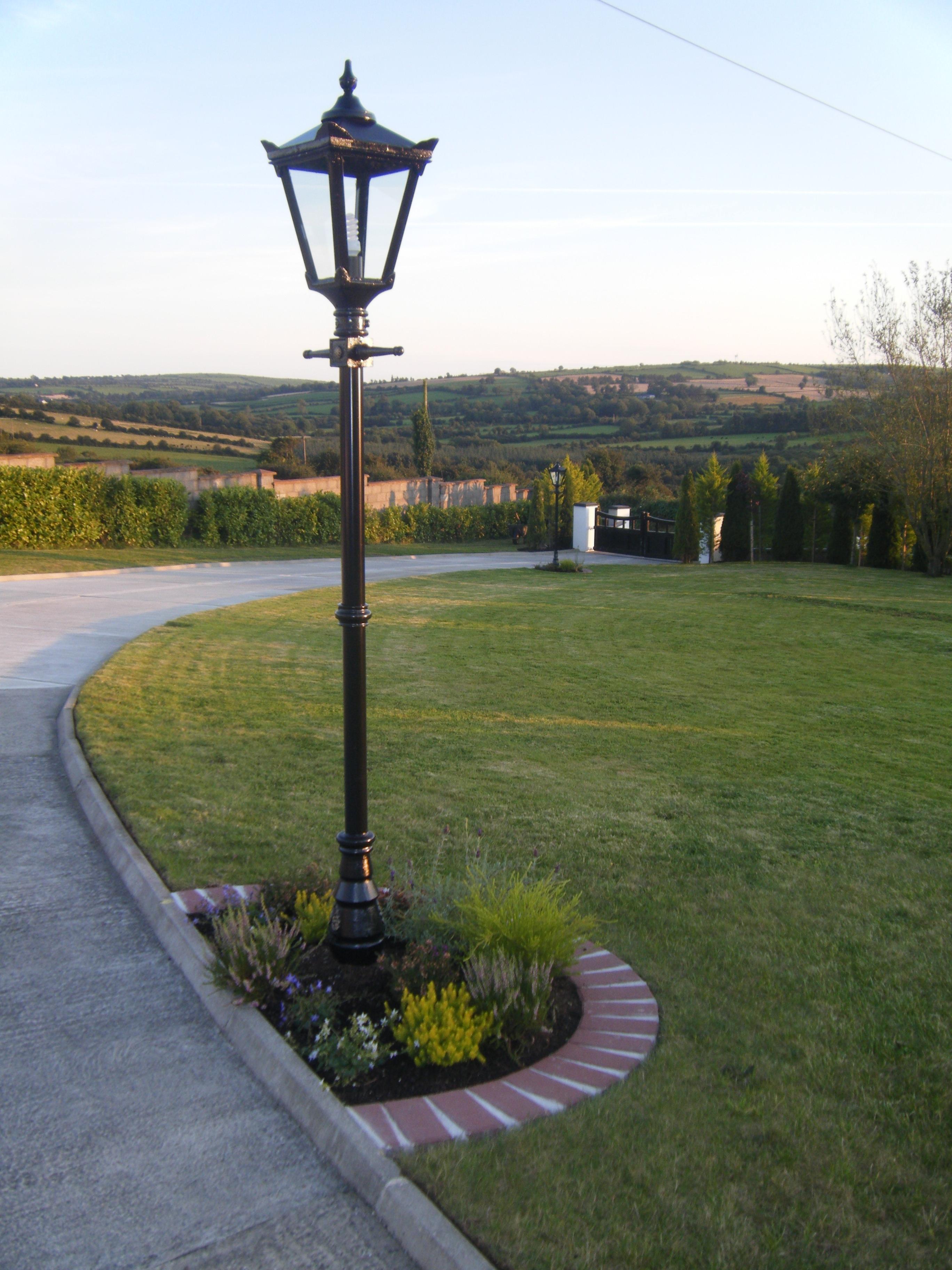 Garden Lighting   Harte Outdoor Lighting in Outdoor Cast Iron Lanterns (Image 8 of 20)