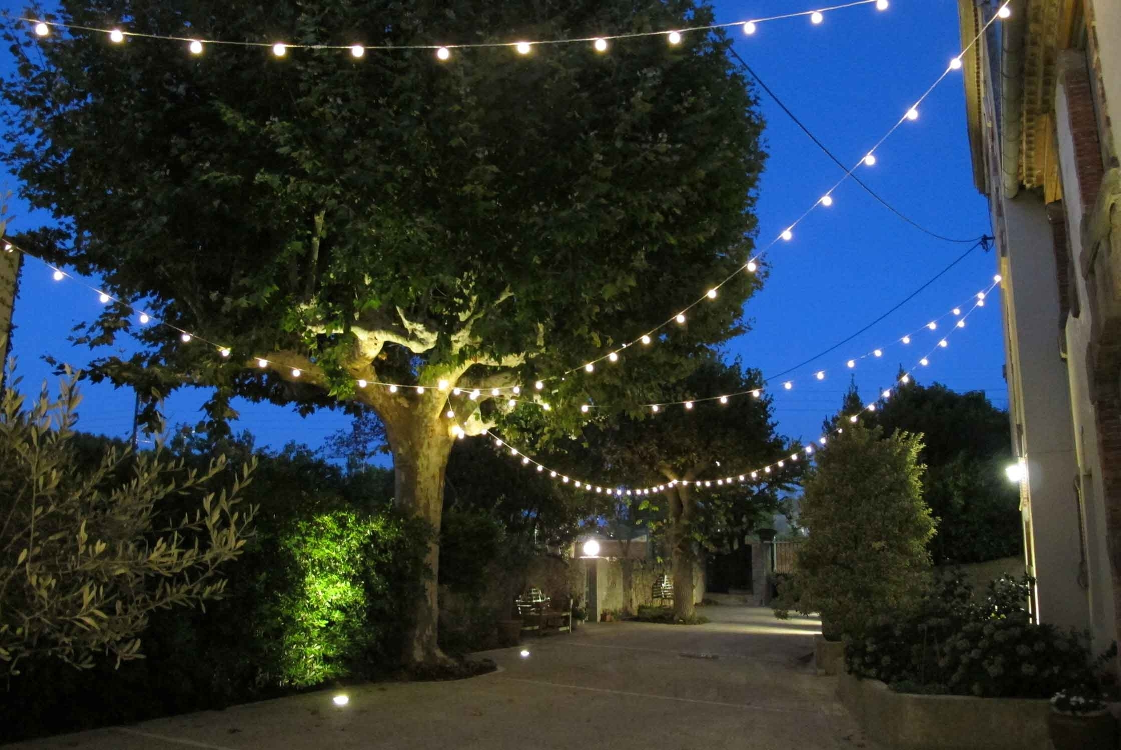Garden Lighting Ideas | Inspiration | Lights4Fun.co.uk with Outdoor Lanterns for Trees (Image 9 of 20)