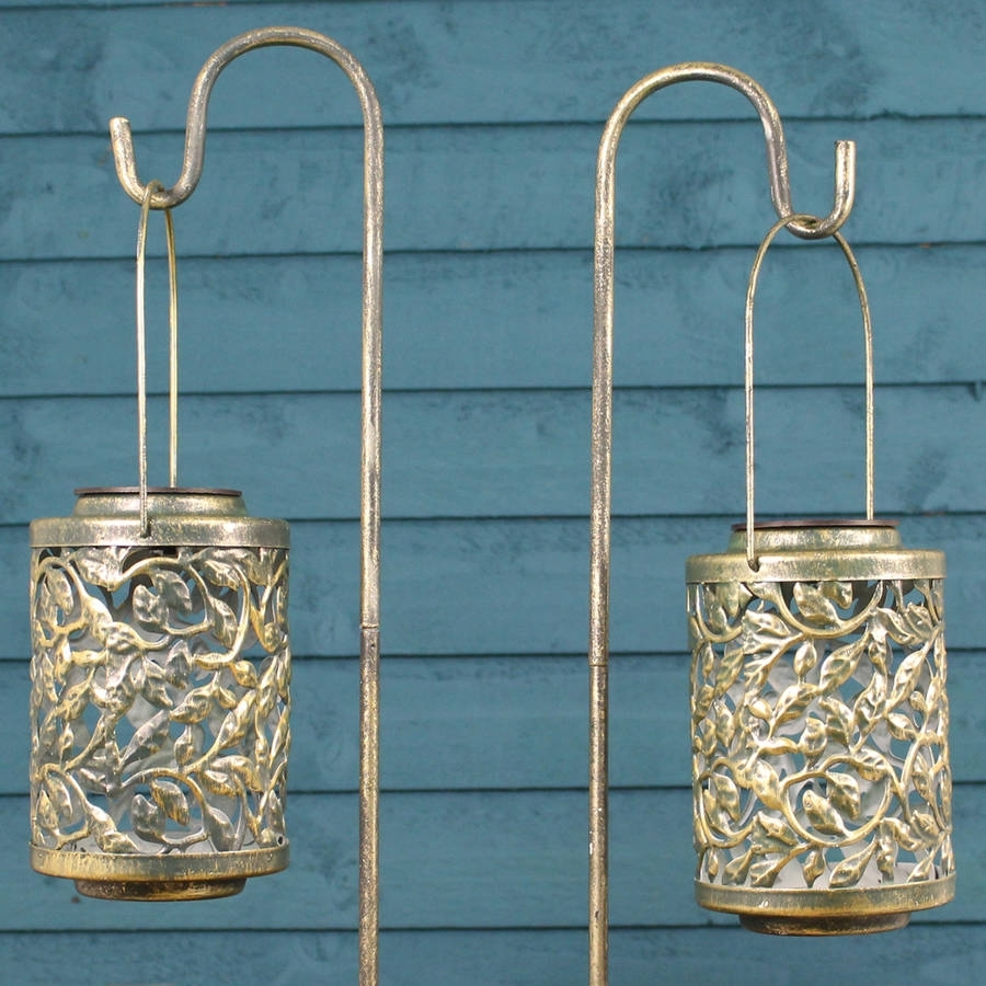Garden Lights And Lanterns | Notonthehighstreet Pertaining To Silver Outdoor Lanterns (View 19 of 20)