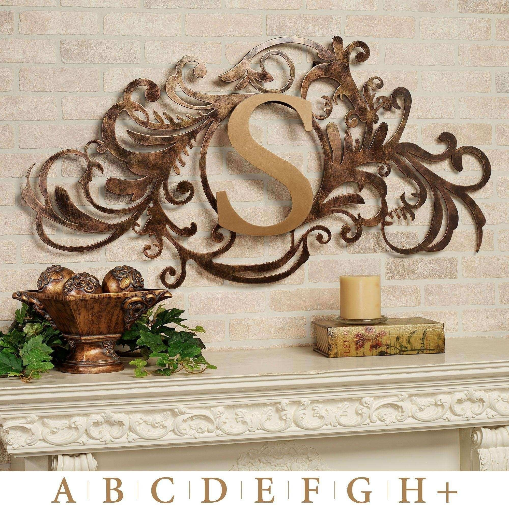Garden Wall Decor Wrought Iron – Wall Decor Ideas Regarding Outdoor Wall Art Decors (View 20 of 20)
