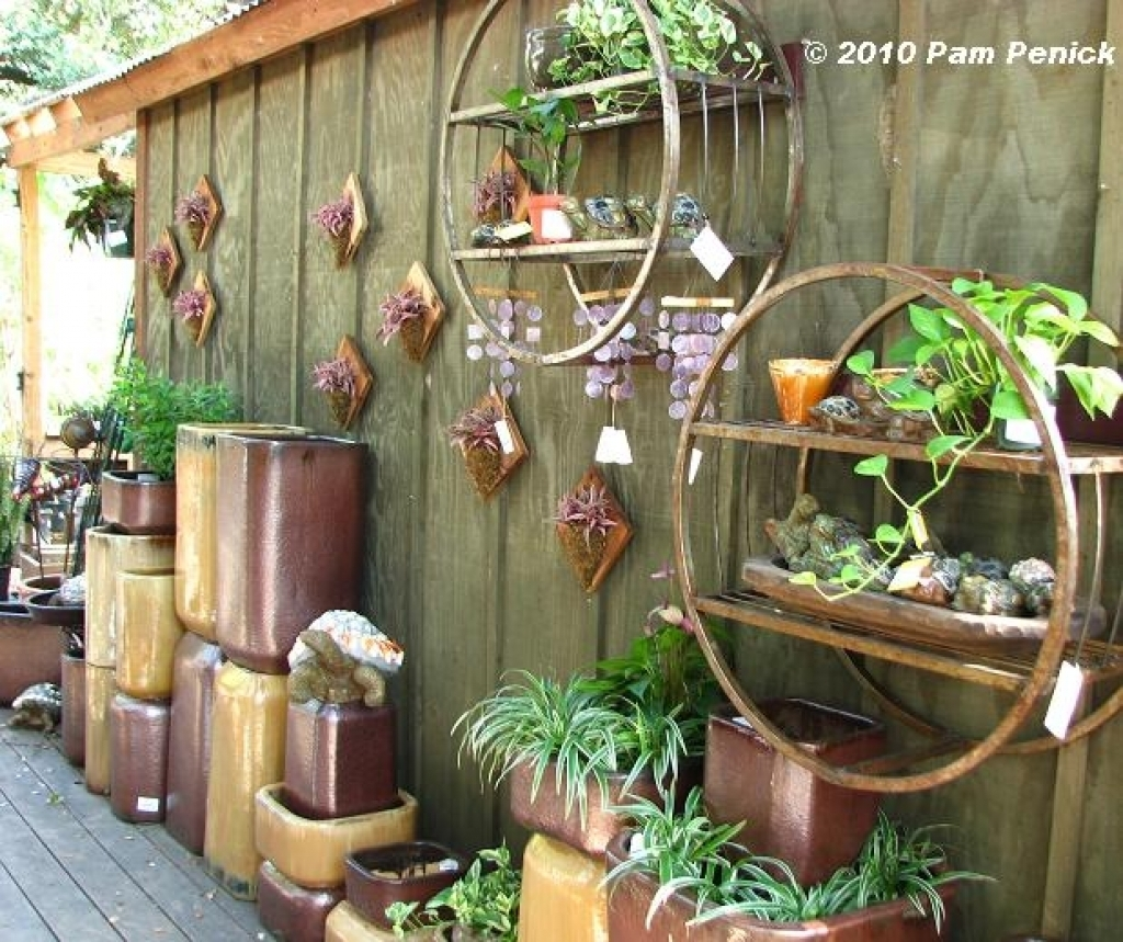 Garden Wall Decoratio Stunning Outdoor Wall Art Ideas - Wall in Outside Wall Art (Image 4 of 20)