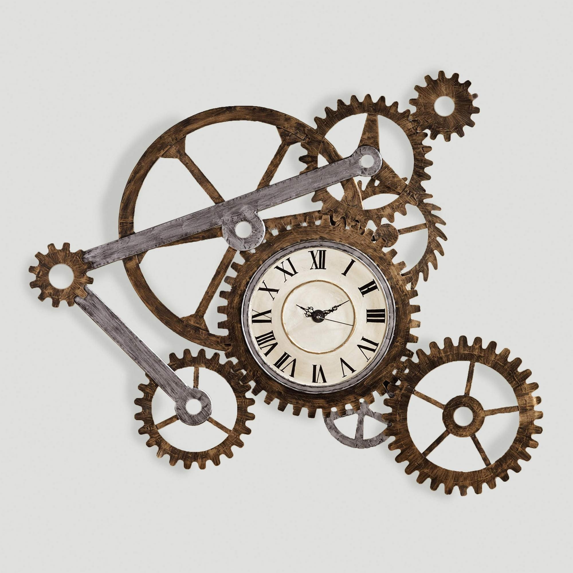 Gear Wall Art With Clock Clocks, Walls And Steampunk House - Super Text with Steampunk Wall Art (Image 7 of 20)