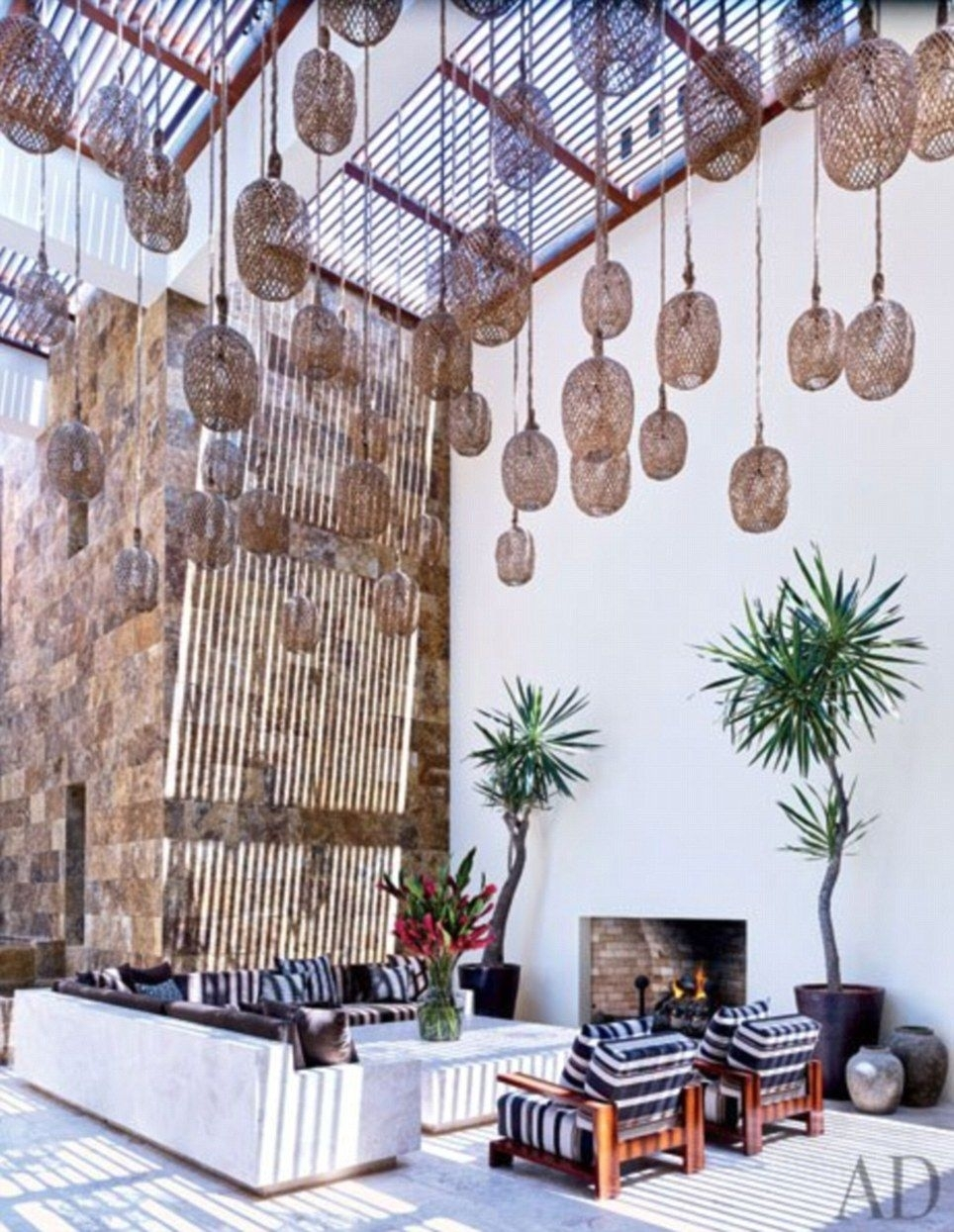 George Clooney And Cindy Crawford Show Off Their Mexican Villas In for Outdoor Mexican Lanterns (Image 6 of 20)