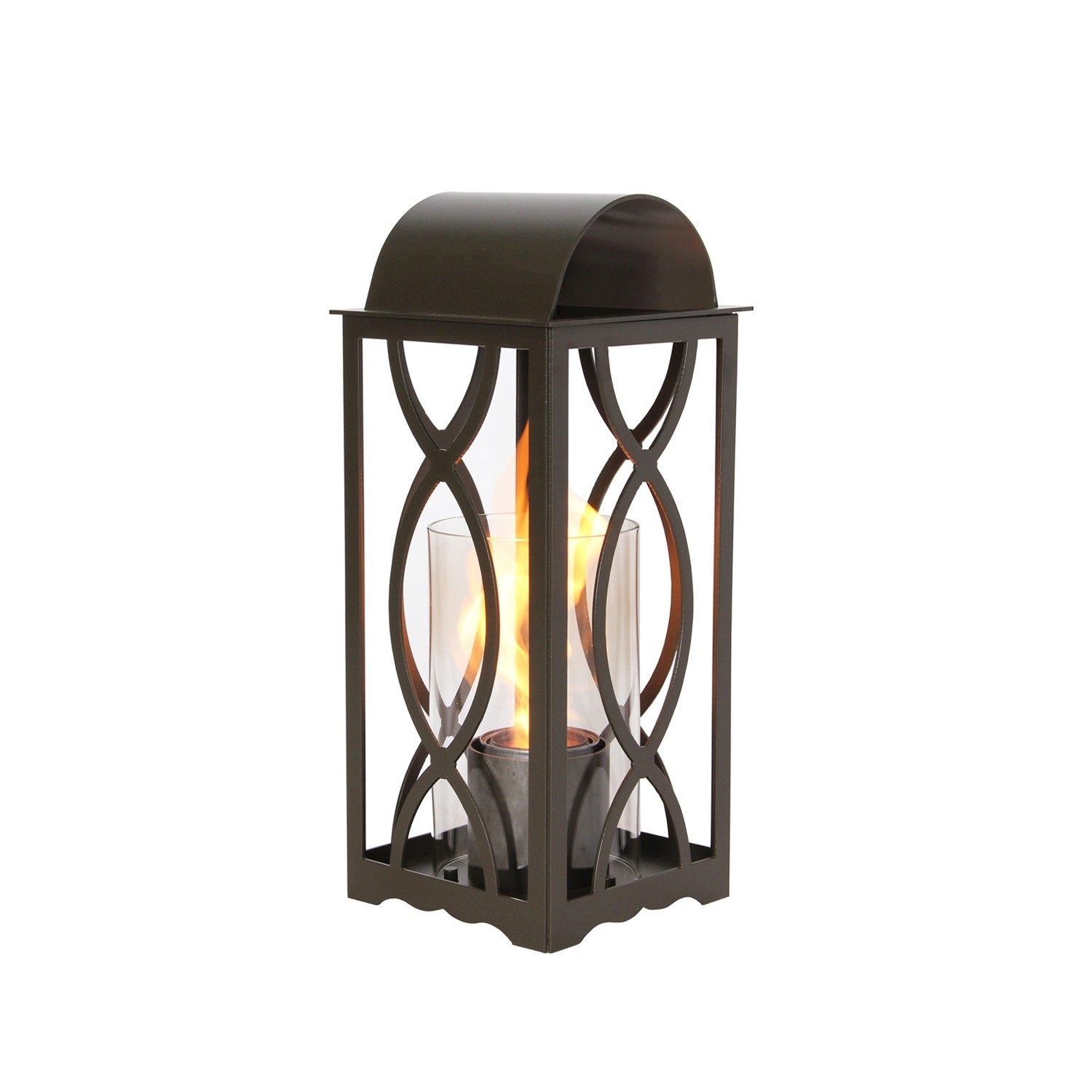 Georgian Lanterns | Bronze Outdoor Lanterns | Allbackyardfun in Outdoor Gel Lanterns (Image 7 of 20)