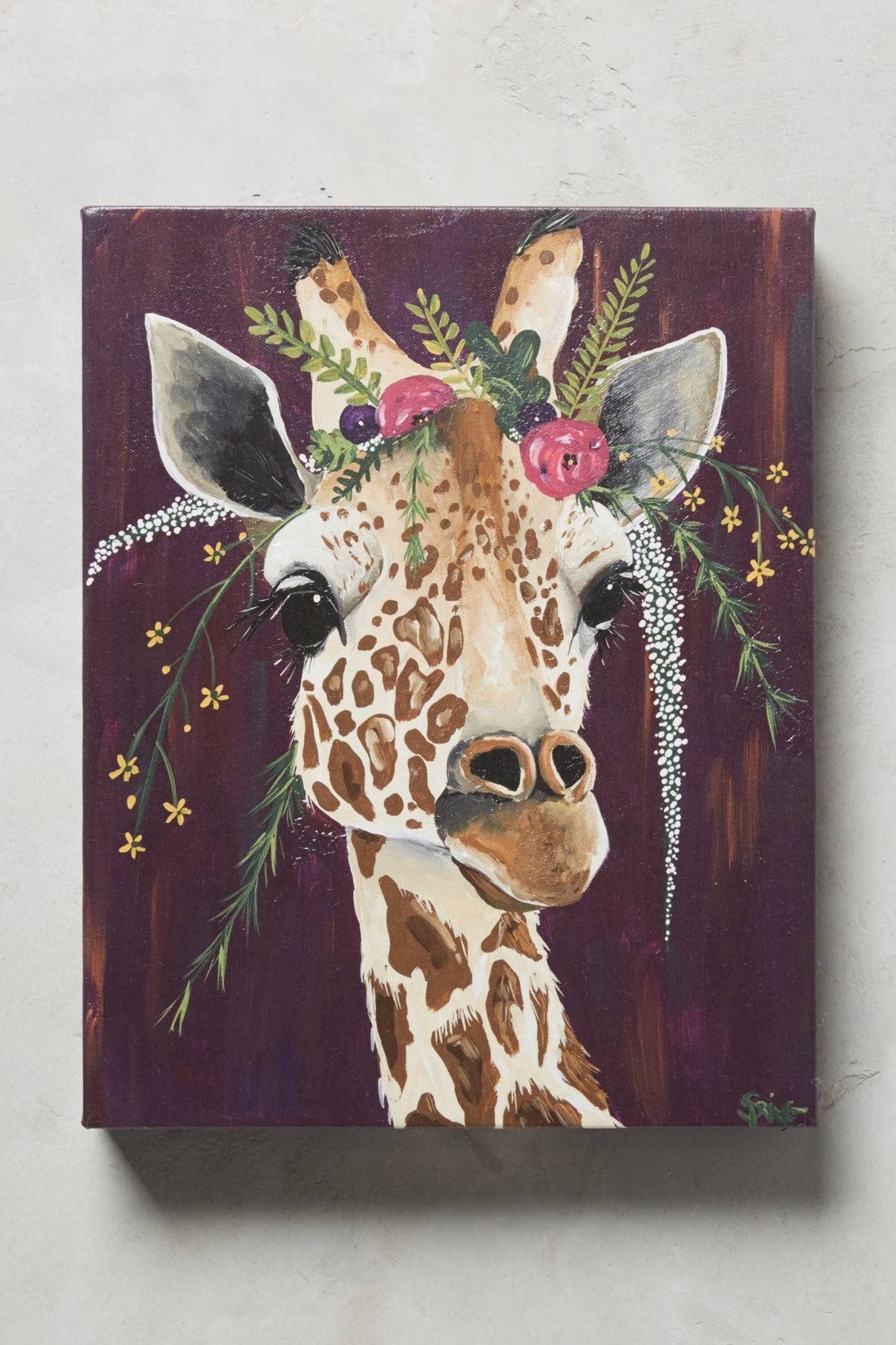Featured Photo of Giraffe Canvas Wall Art