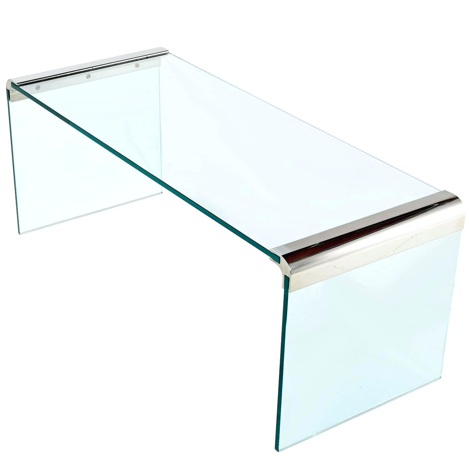 Glass Waterfall Coffee Table Discover Ideas About Square Coffee regarding Square Waterfall Coffee Tables (Image 8 of 30)