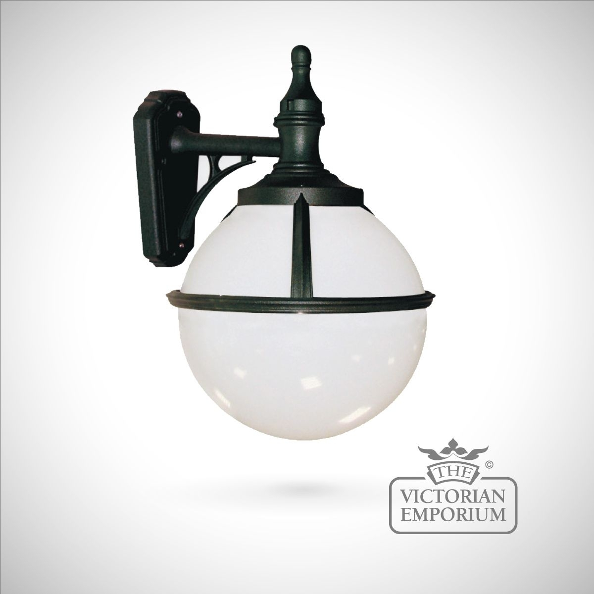 Globe Wall Lantern   Outdoor Wall Lights Within Victorian Outdoor Lanterns (View 19 of 20)