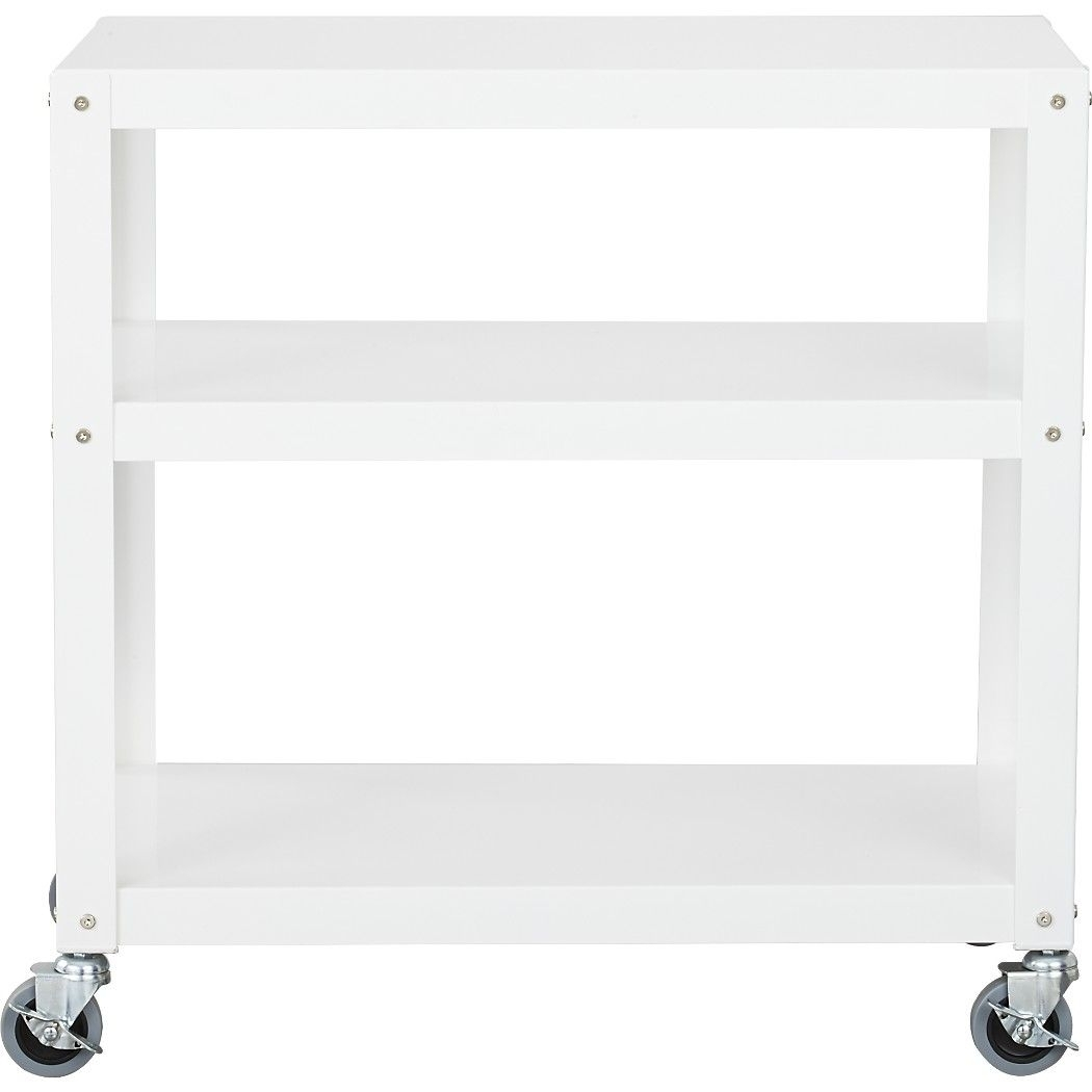 Go Cart 3 Shelf White | Luxe Living Room | Pinterest | Office Moving pertaining to Go-Cart White Rolling Coffee Tables (Image 14 of 30)