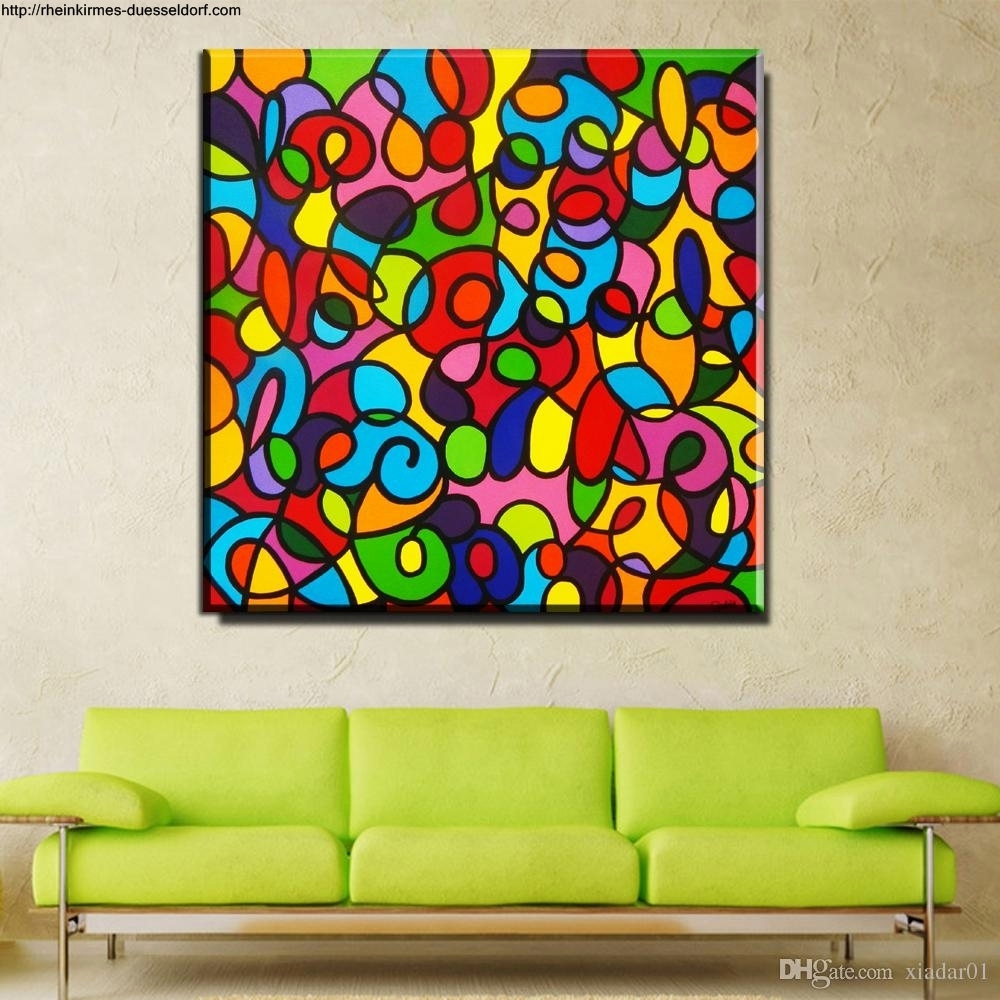 Goldfish Wall Art Prints I Colorful Canvas Painting I Posters for Colorful Wall Art (Image 11 of 20)