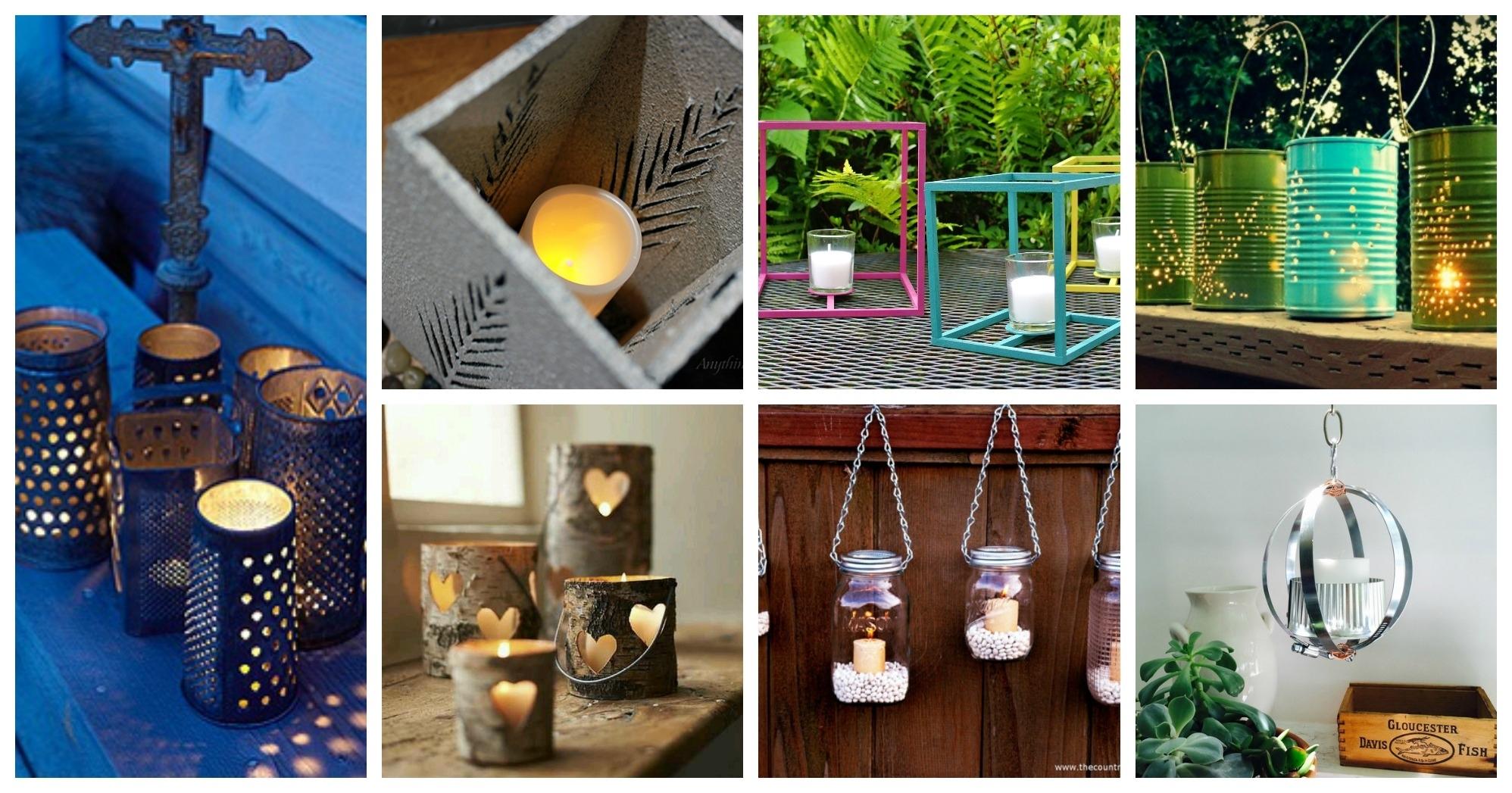 Gorgeous Diy Outdoor Lanterns To Make This Spring Throughout Diy Outdoor Lanterns (View 2 of 20)