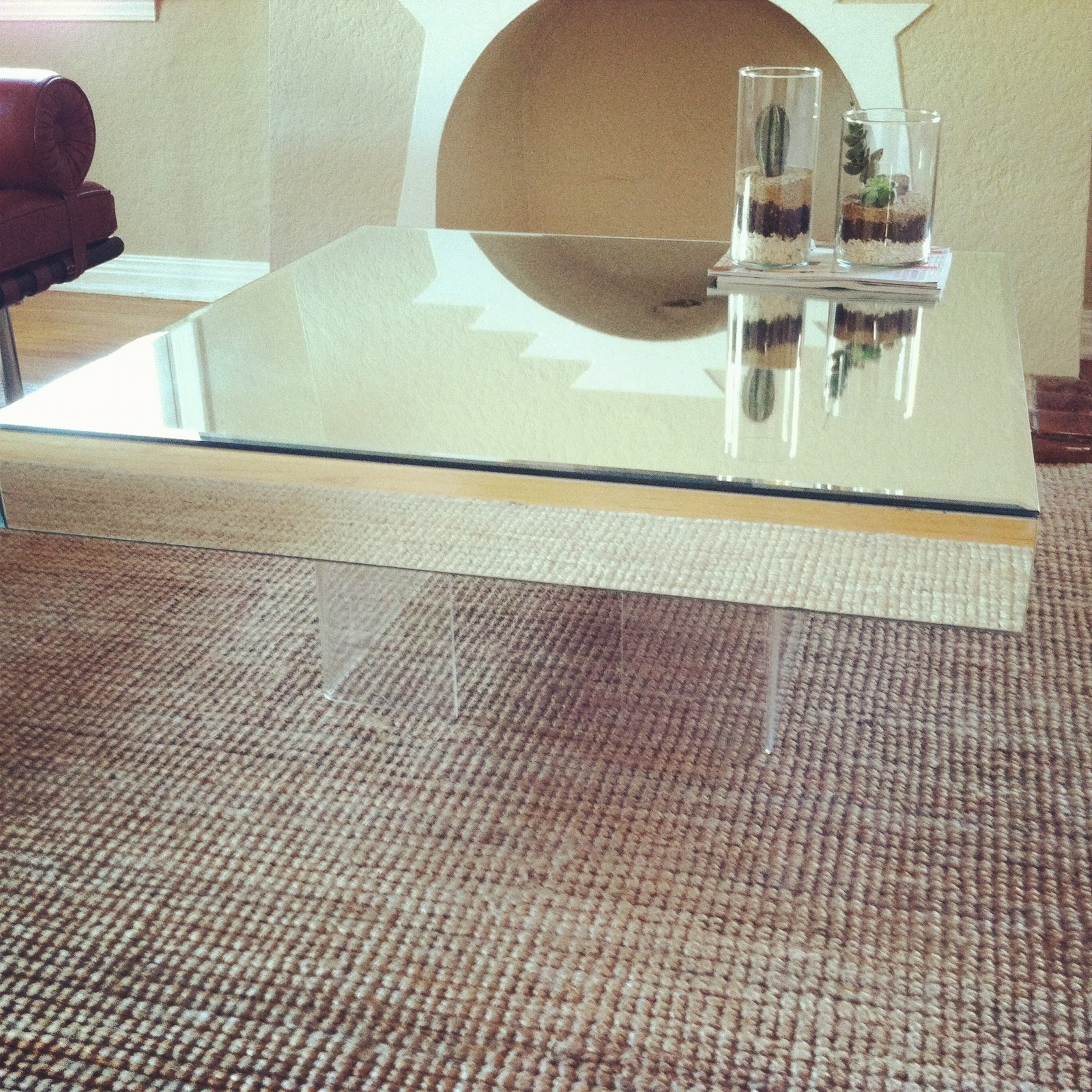 Gorgeous Square Acrylic Coffee Table Of New Si #71612 | Forazhouse for Modern Acrylic Coffee Tables (Image 14 of 30)