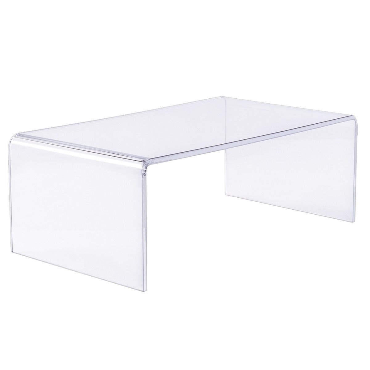 Gorgeous Square Acrylic Coffee Table Of New Si #71612 | Forazhouse intended for Square Waterfall Coffee Tables (Image 9 of 30)