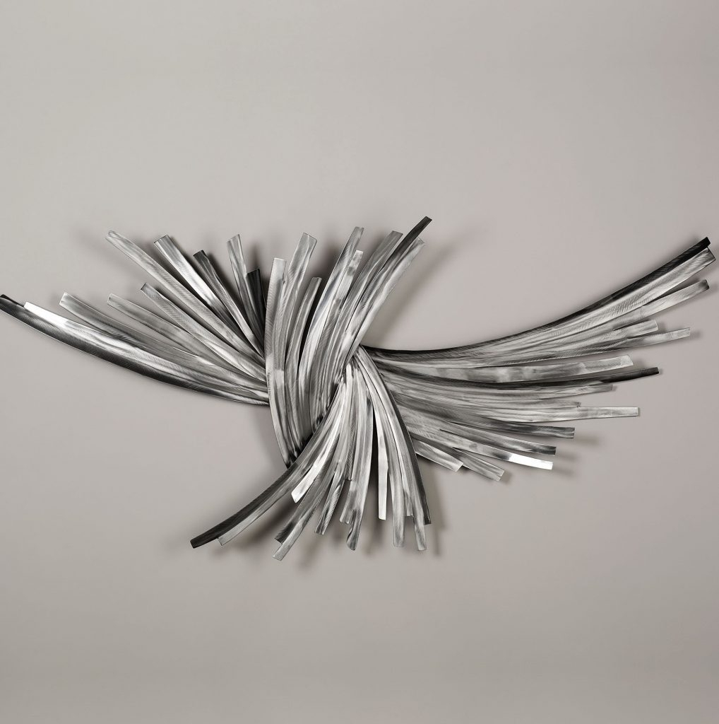Graceful Silver Wall Art Metal Silver Wall Decor Together With throughout Silver Metal Wall Art (Image 5 of 20)
